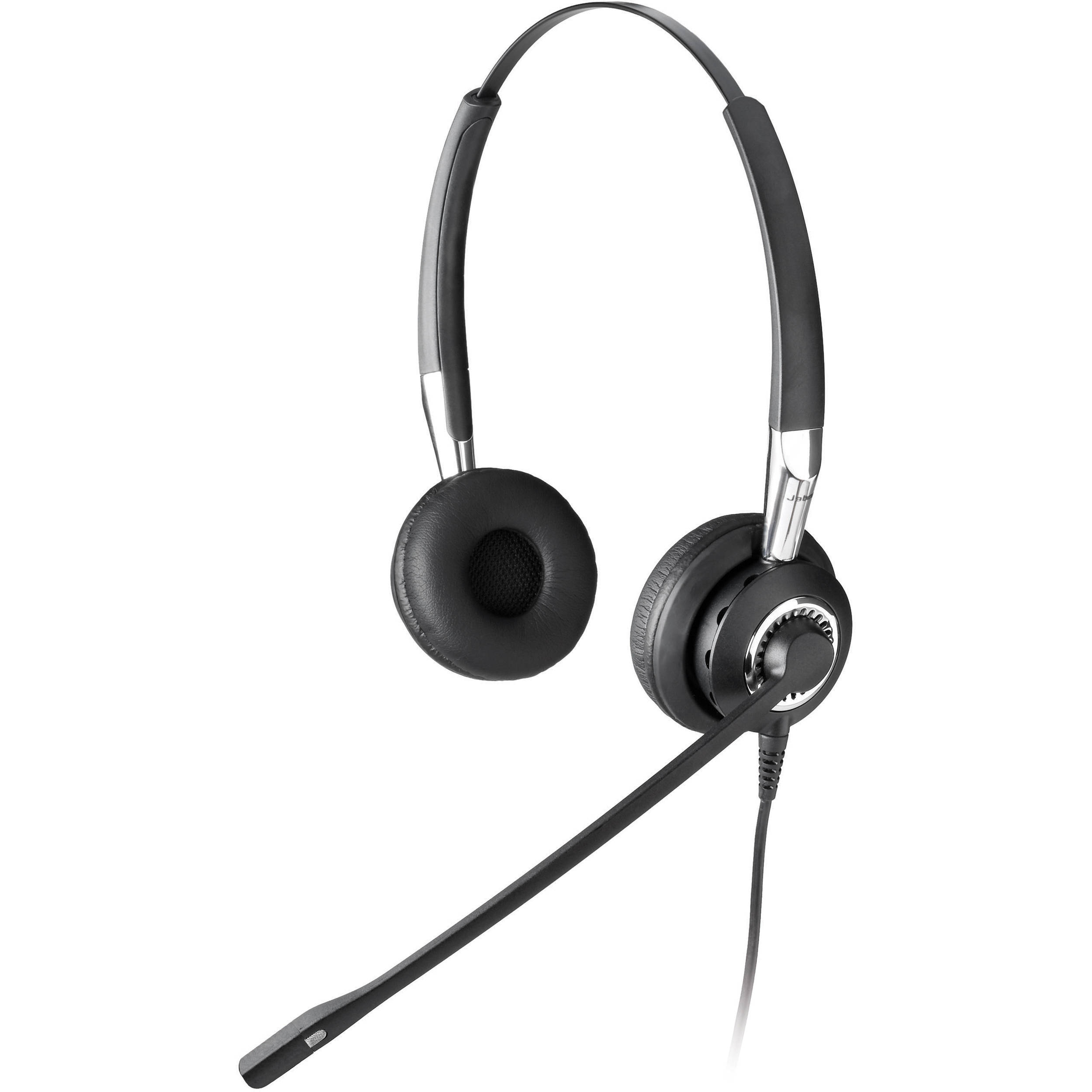 Wired Headset Jabra Biz 2400 Duo Wb Balance: Jabra Biz 2400 Duo / Noise Canceling Headset 2409-820-105 B&H