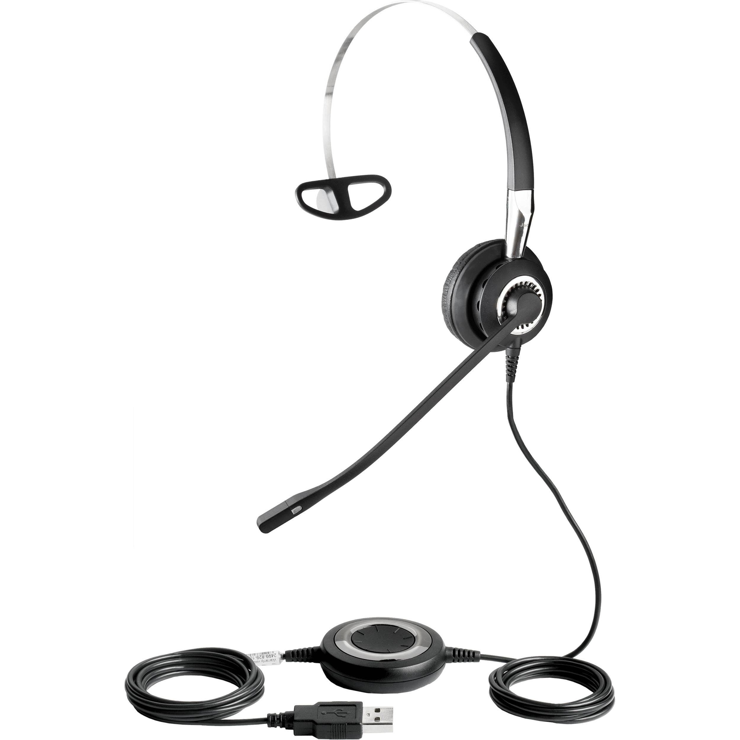 jabra biz 2400 usb mono headset 2496