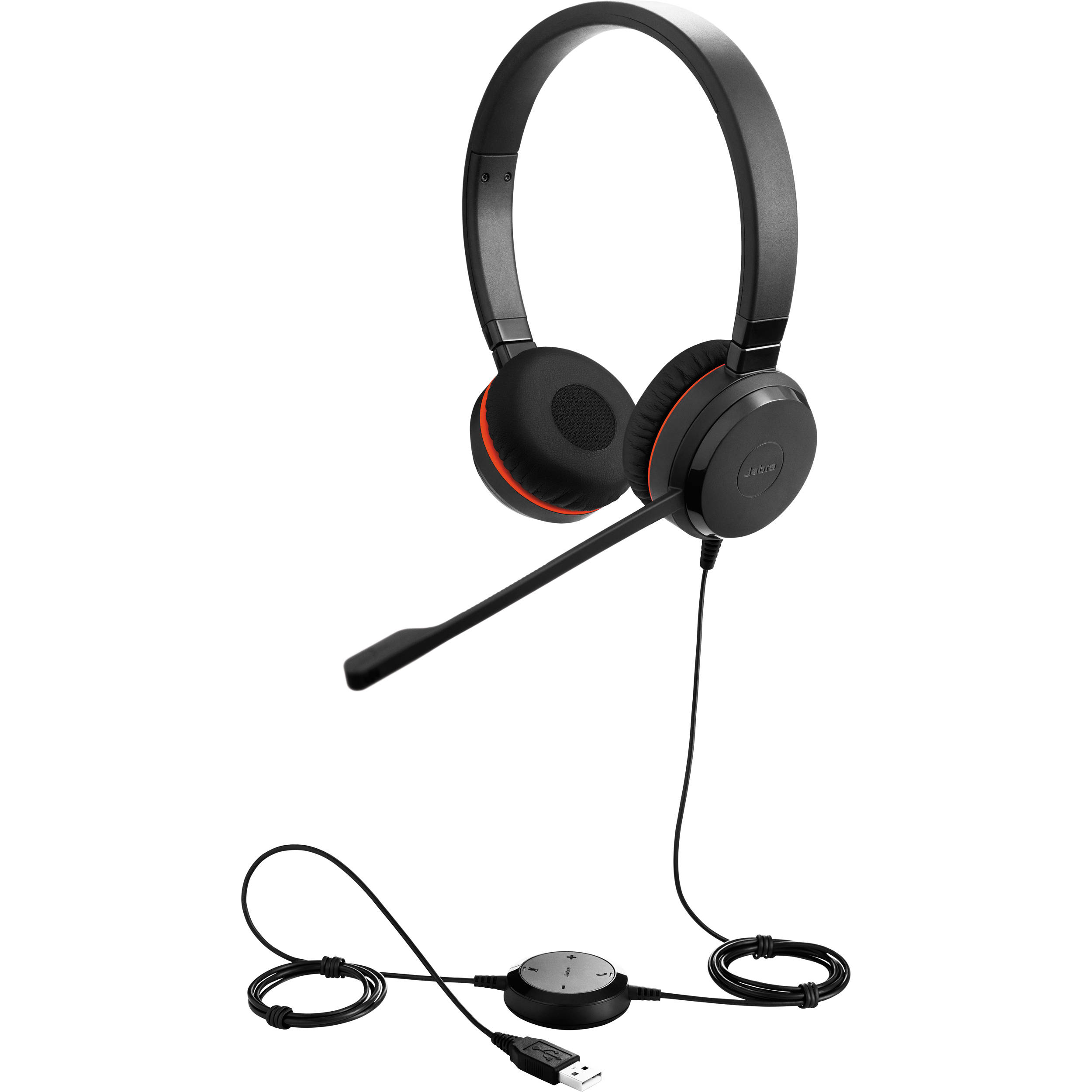 Jabra Evolve 75 Ms Stereo: Jabra EVOLVE 30 MS Stereo Headset 5399-823-109 B&H Photo Video