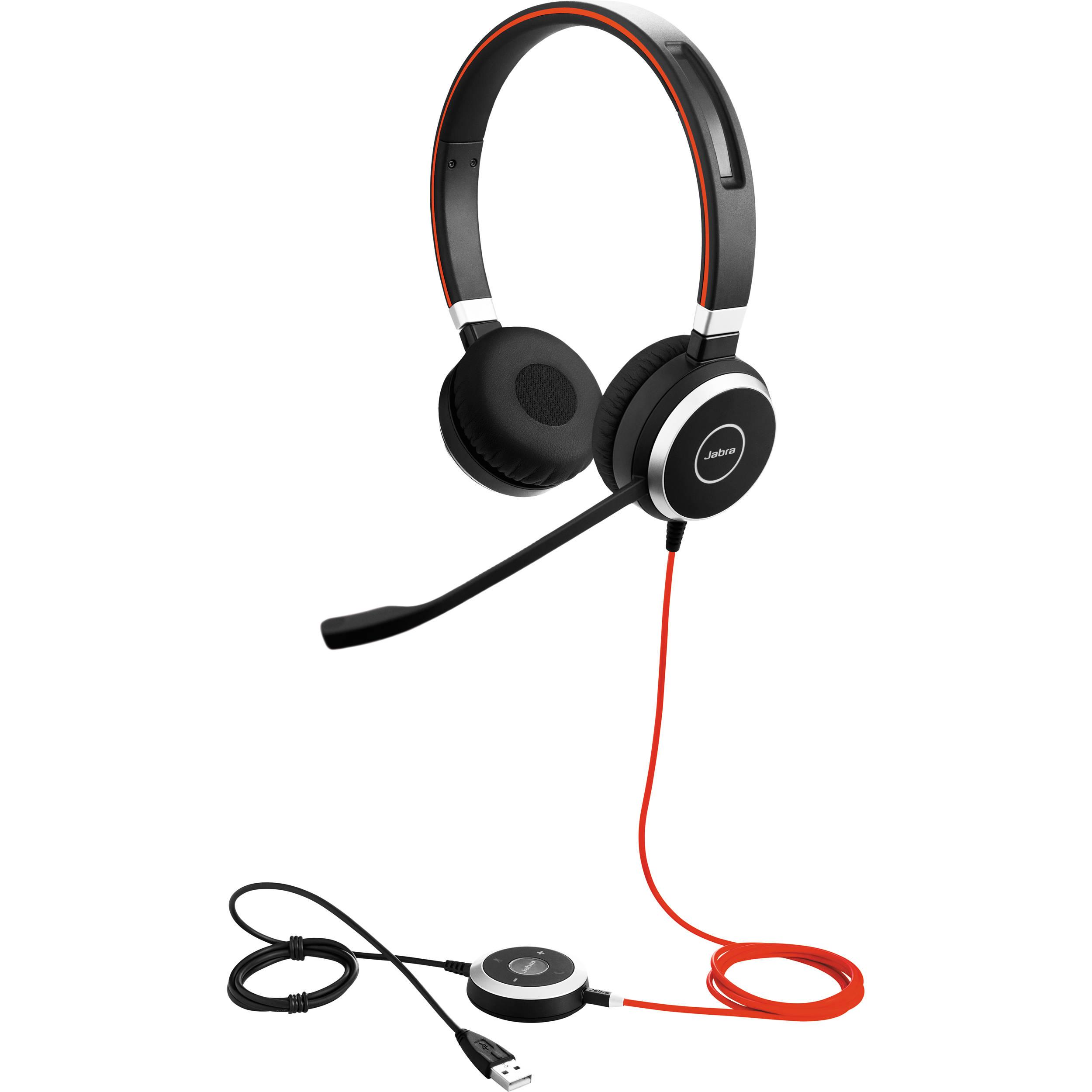 2cacb788af2 Jabra EVOLVE 40 UC Stereo Headset 6399-829-209 B&H Photo Video