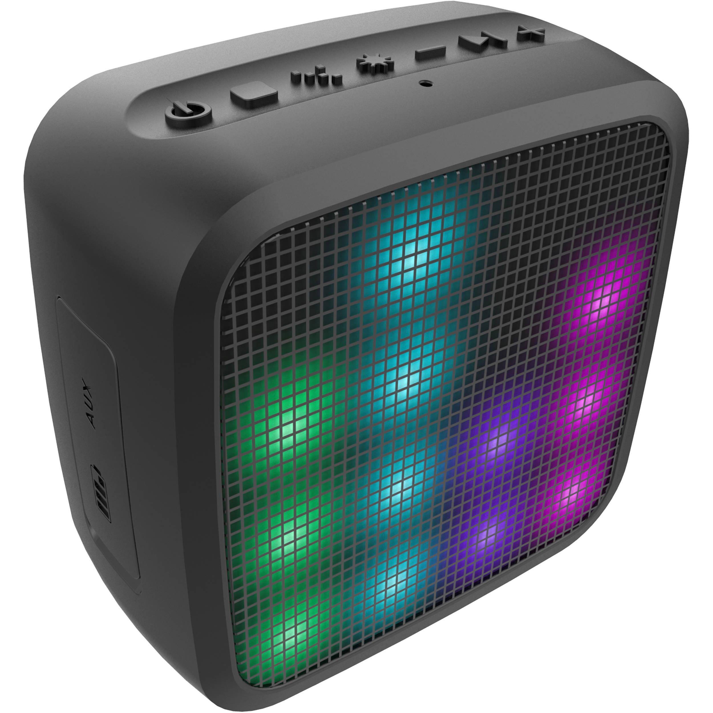 Jam Trance Mini LED Bluetooth Light Show Speaker HX-P460 B&H