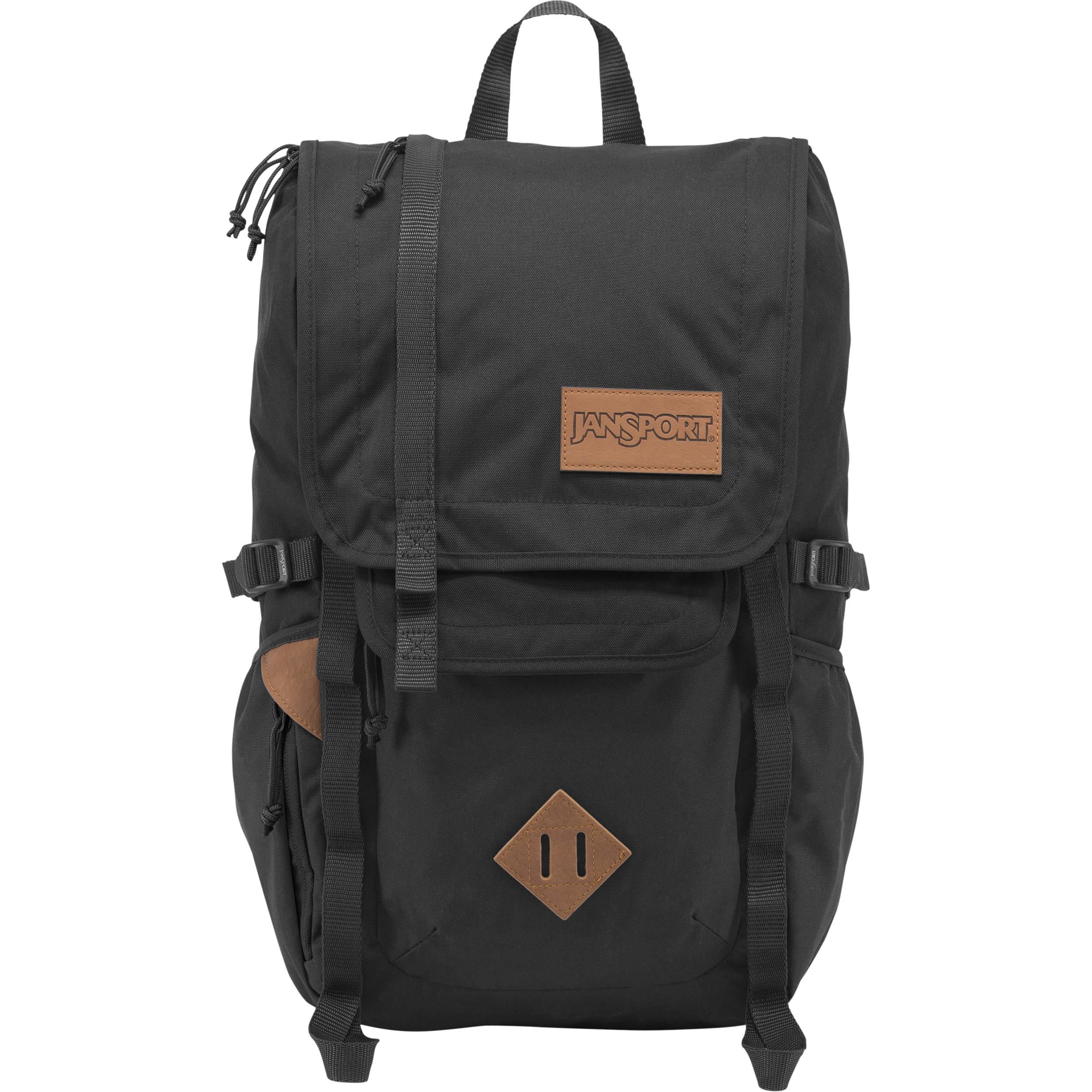 JanSport Hatchet 28L Backpack (Black) JS00T52S008 B&H Photo