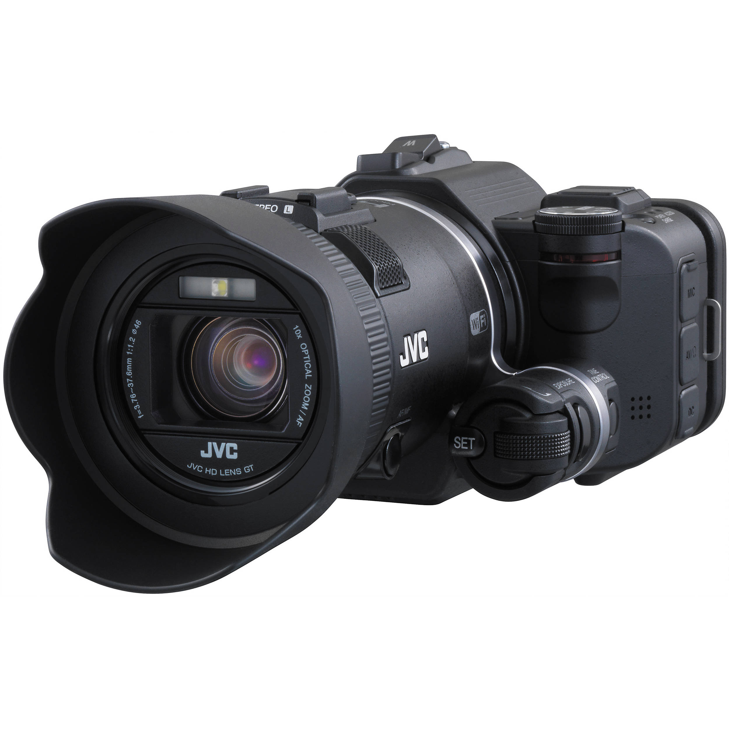 Jvc gc px100 full hd everio camcorder gc px100bus b h photo for Housse camescope