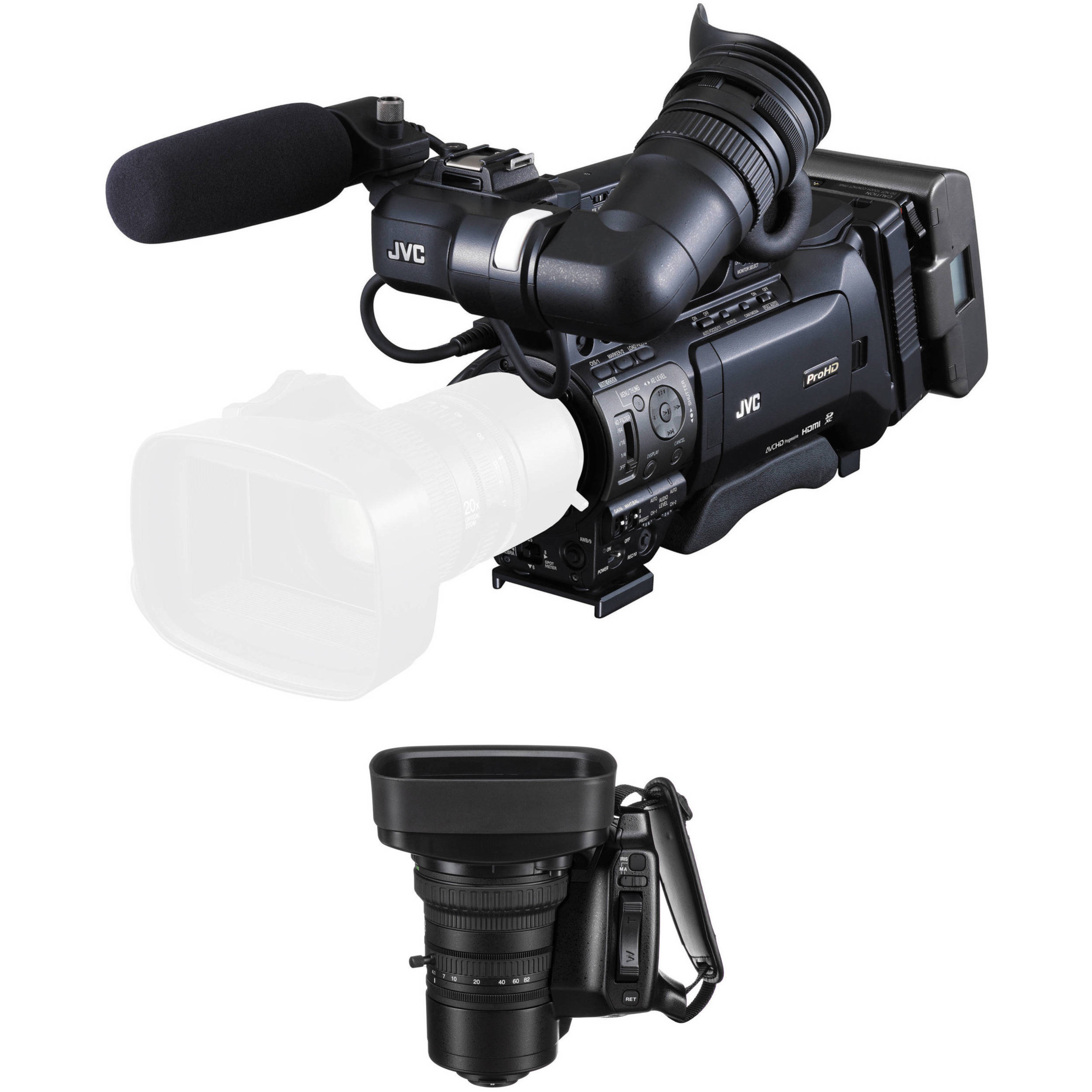 Magnus VC-20-SE Zoom Controller for Canon /& Fujinon ENG 2 Pack