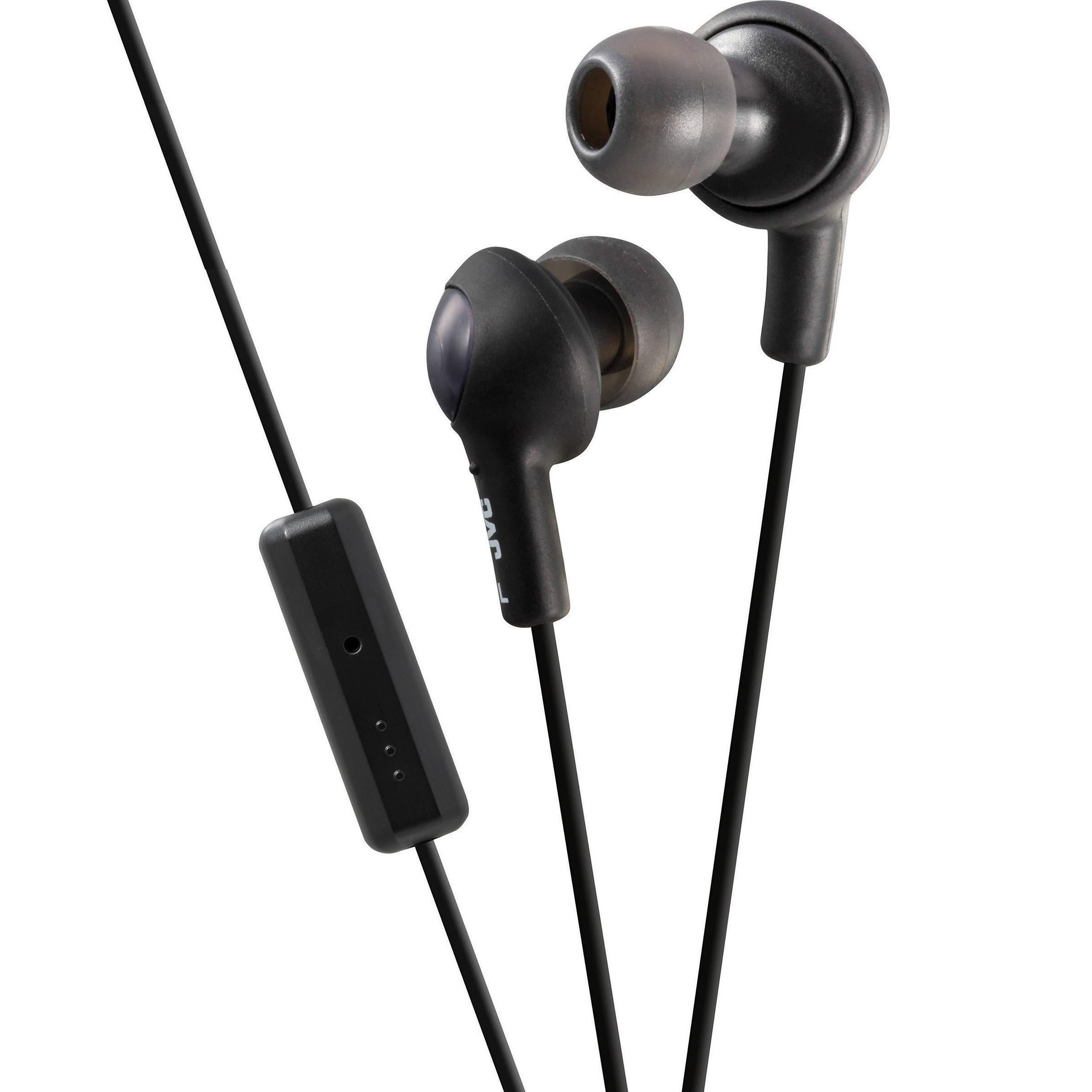 JVC HA-FR6 Gumy Plus Earbuds (Black) HA-FR6B B H Photo Video 5c639f6dbd
