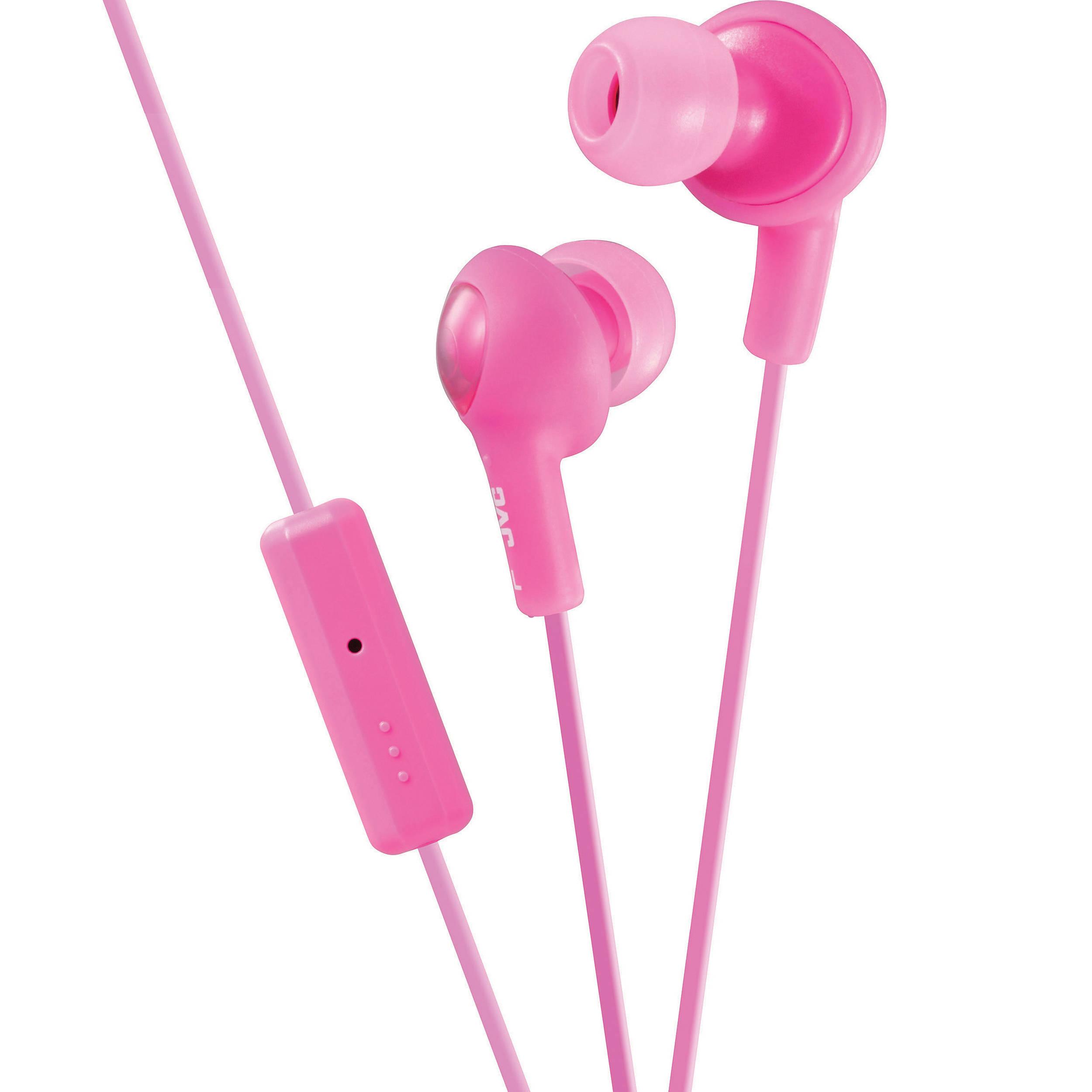 Pink earphones jvc - earphones jaybirds x3