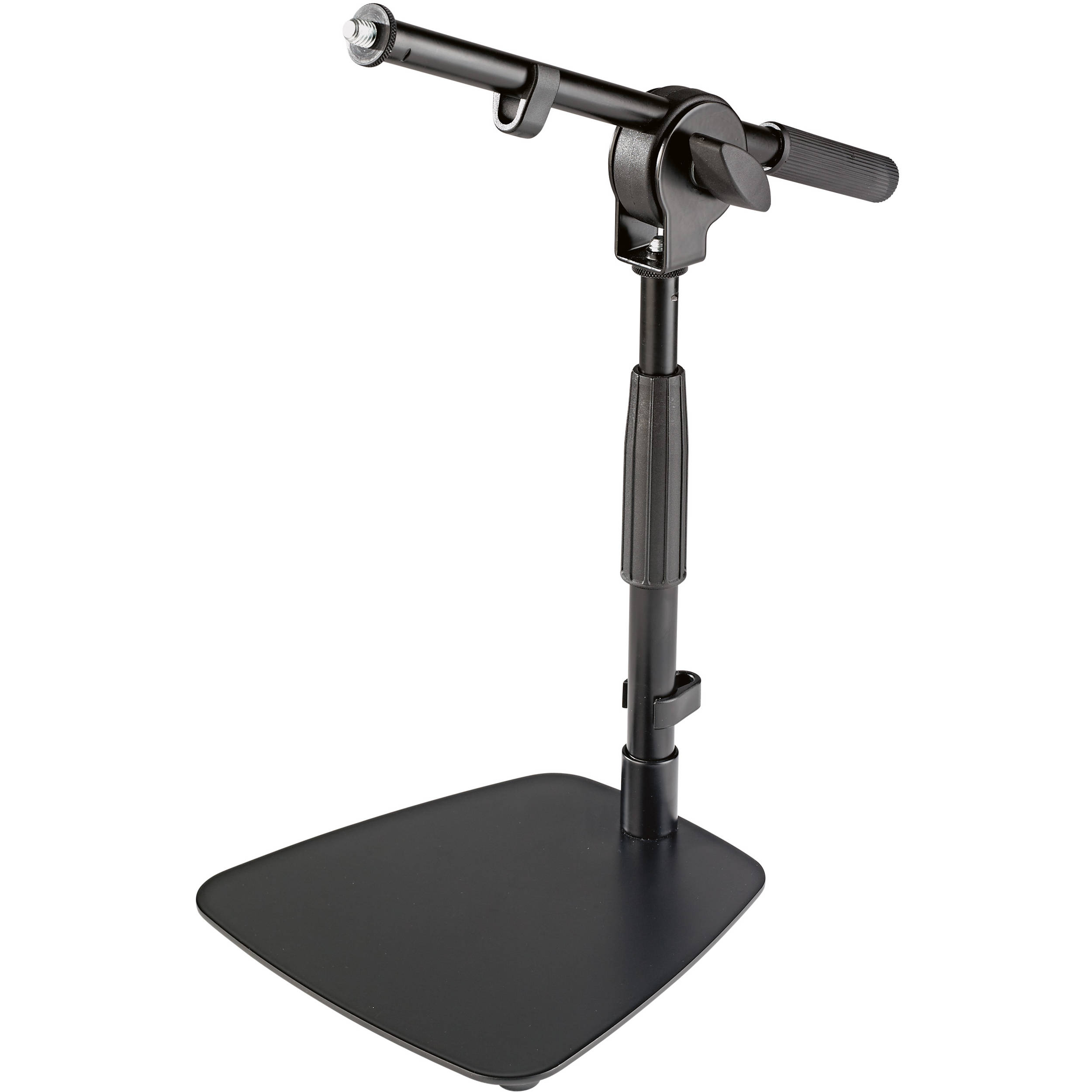 K Amp M 25995 Floor Amp Tabletop Microphone Stand 25995 500 55 B Amp H