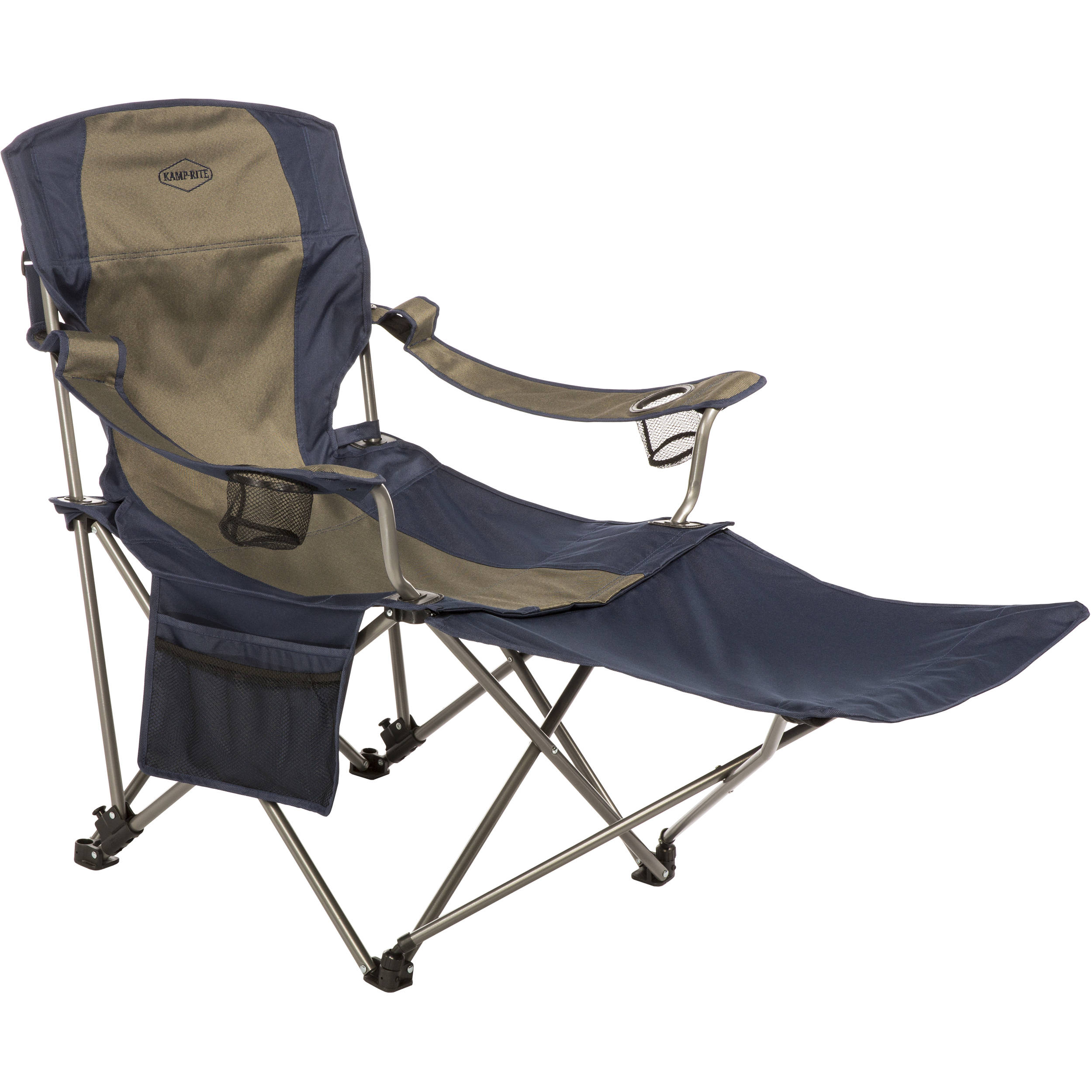 KAMP RITE Folding Chair with Removable Foot Rest CC231 B&H