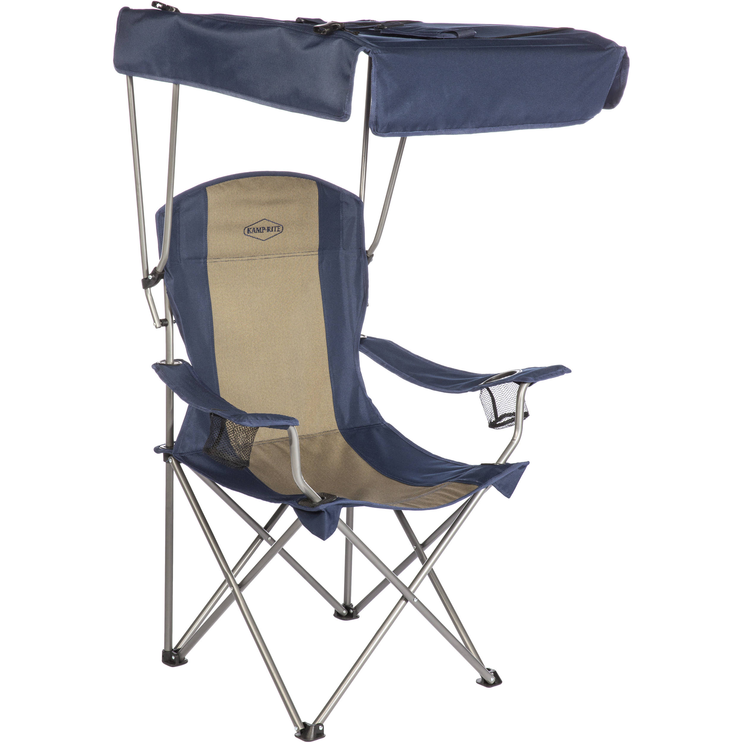 Beau KAMP RITE Folding Chair With Shade Canopy