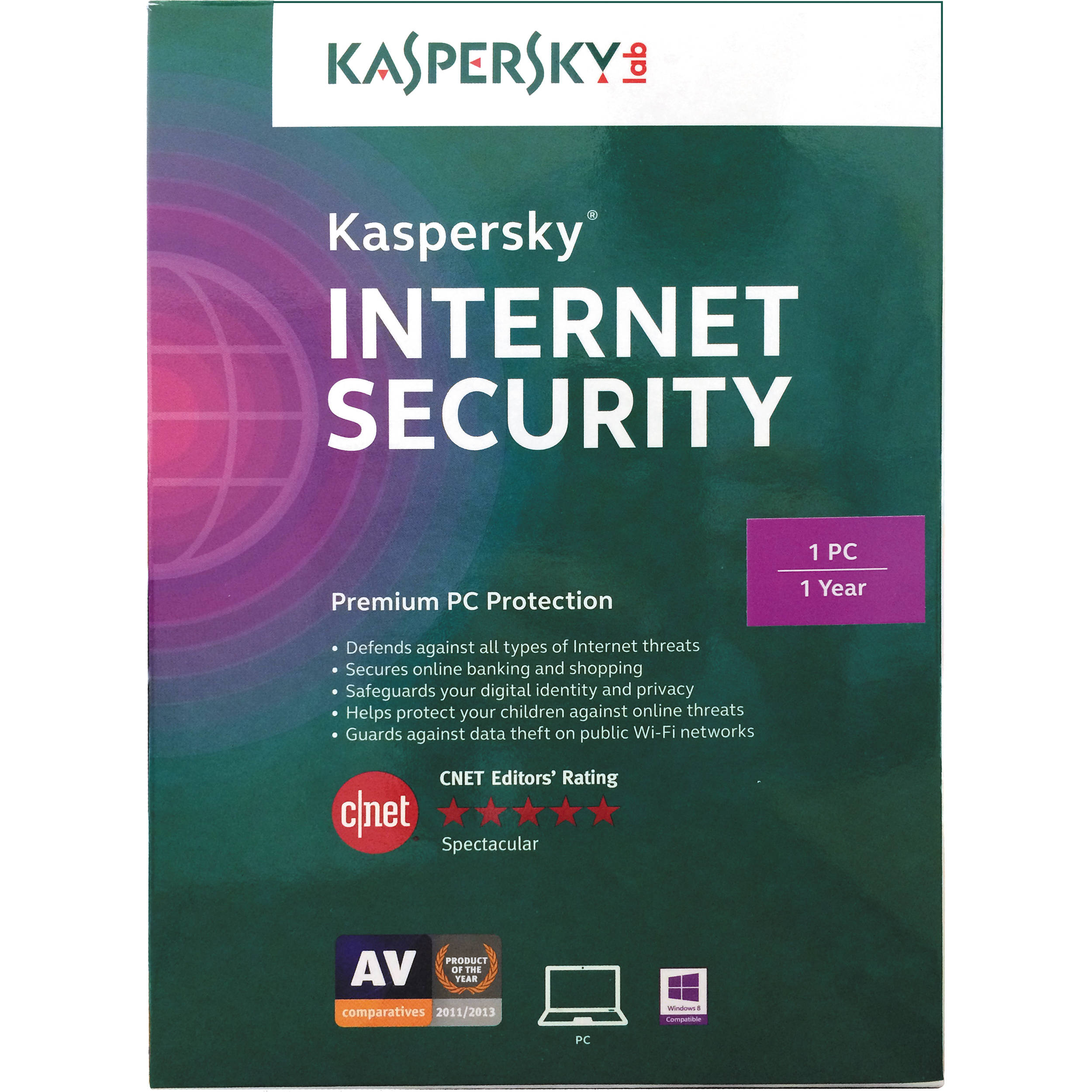 Kaspersky Internet Security 2015 Kis1501121uszz B Amp H Photo