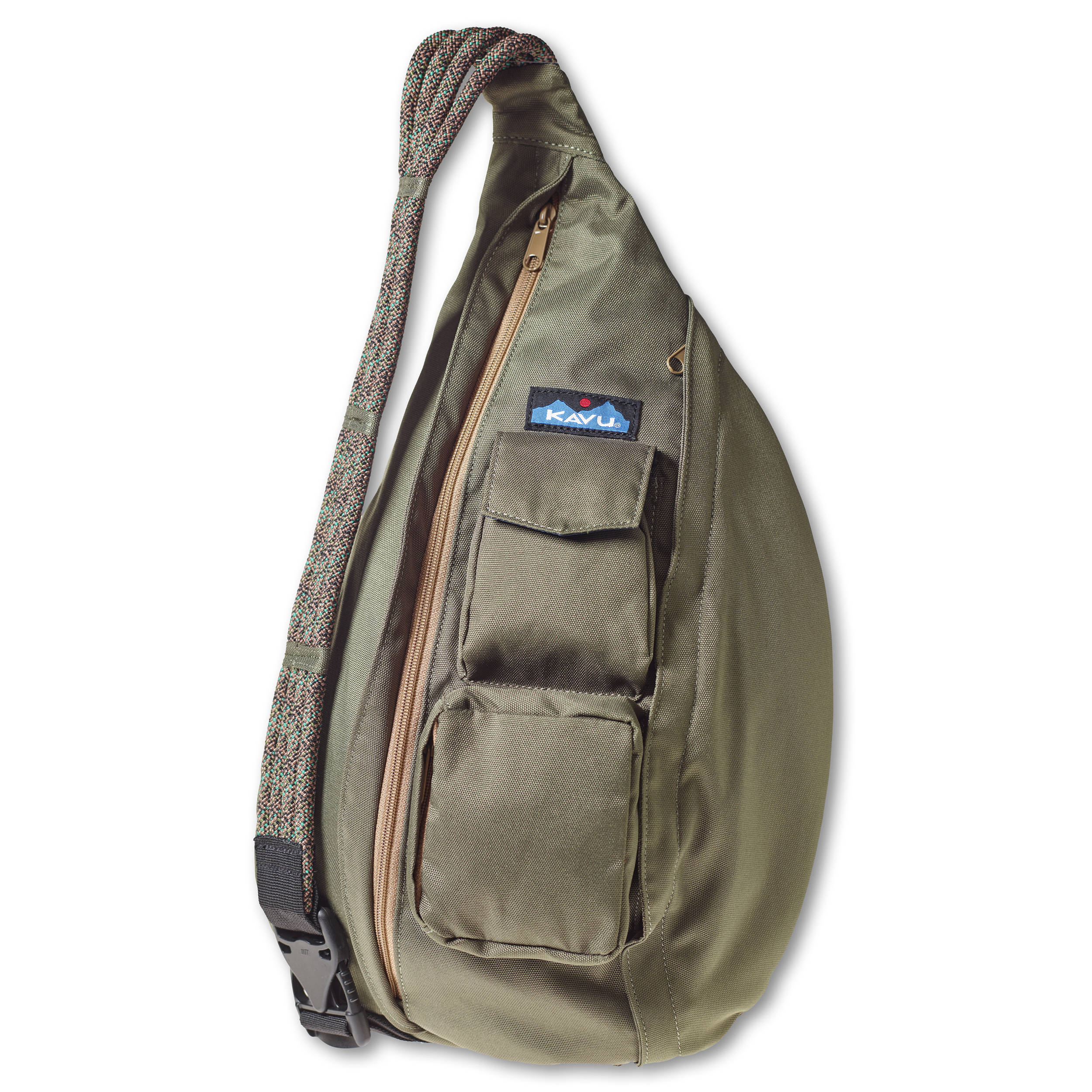 e6ce59019f KAVU Rope Sling Bag (Military Green) 944-60 B H Photo Video