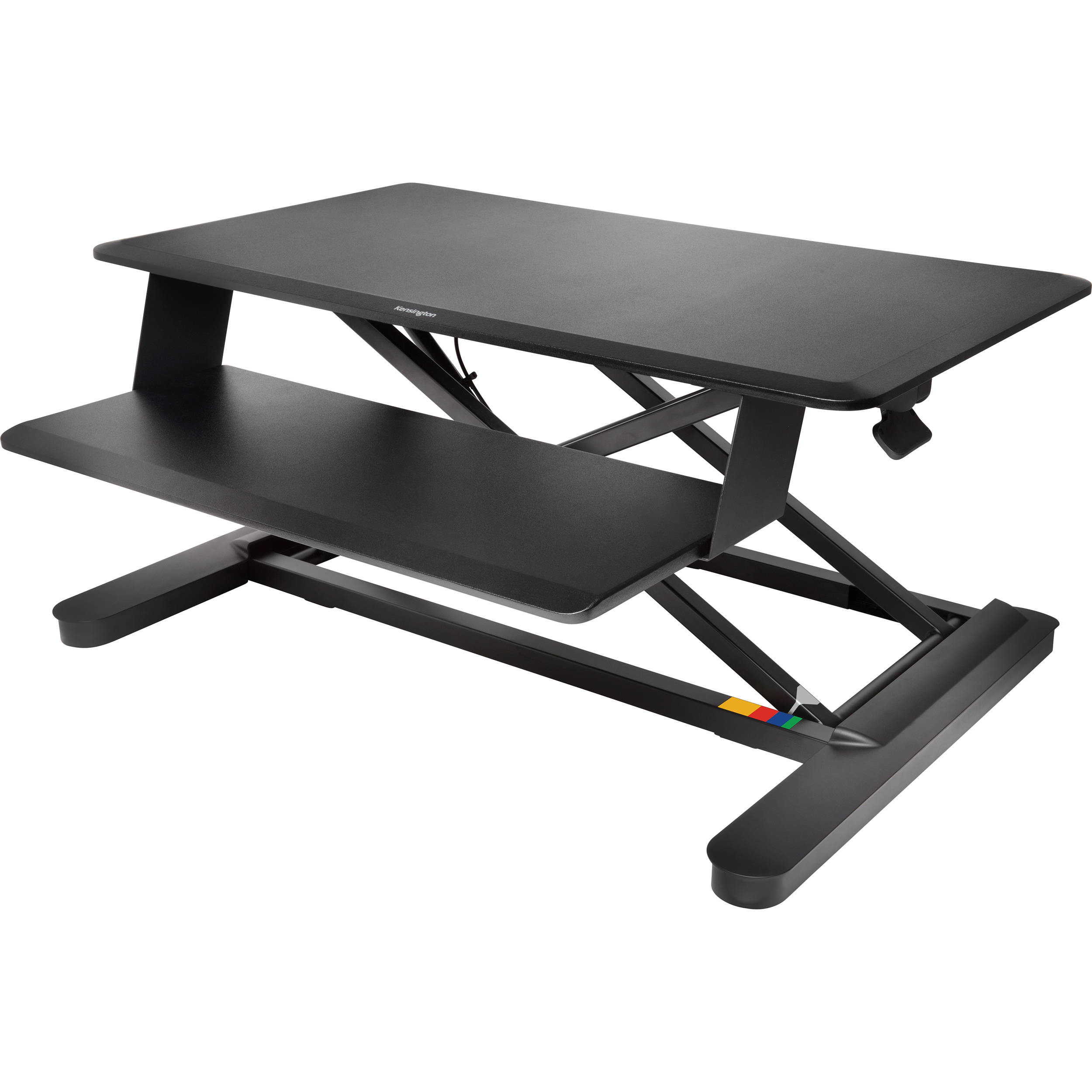 desk stand products desks select sit sauder