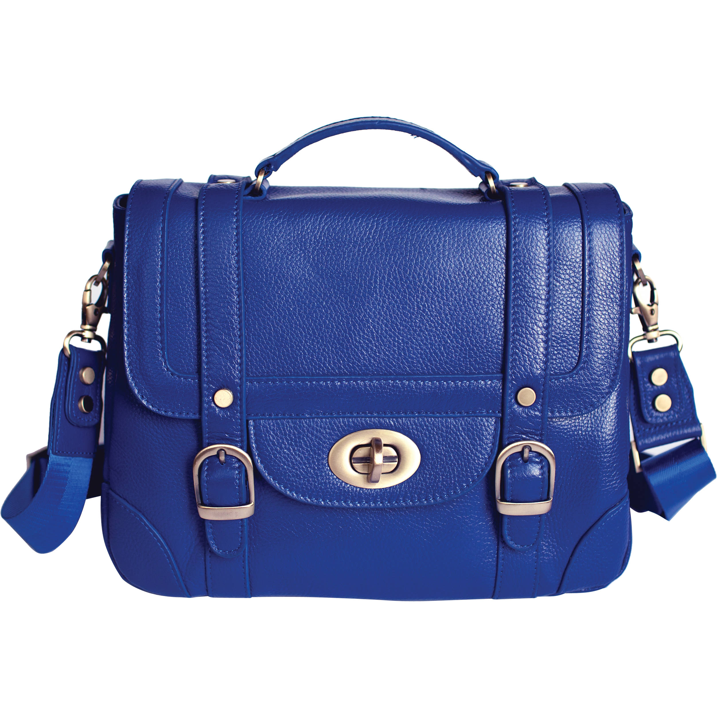 Ketti Handbags The School Camera Bag Electric Blue