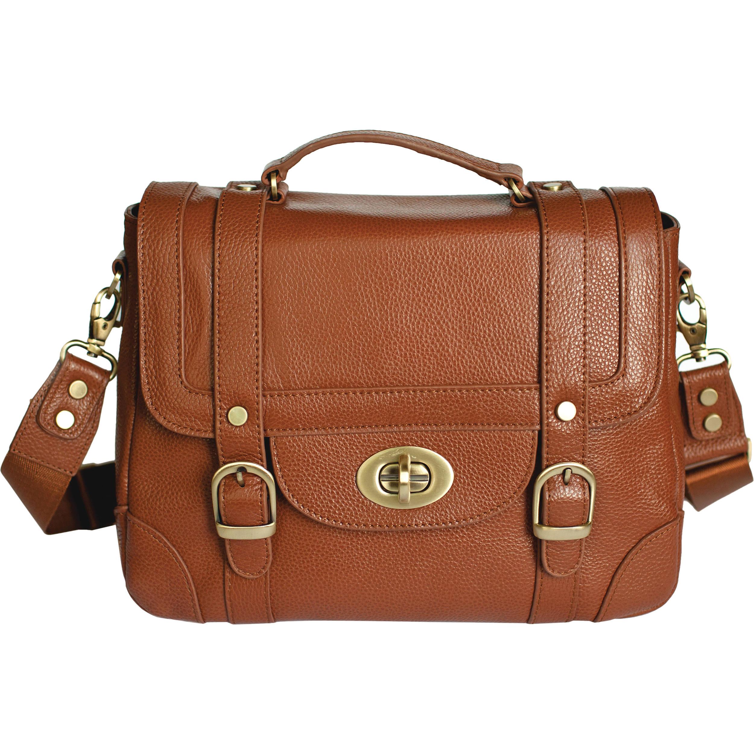 Ketti Handbags The School Camera Bag Caramel