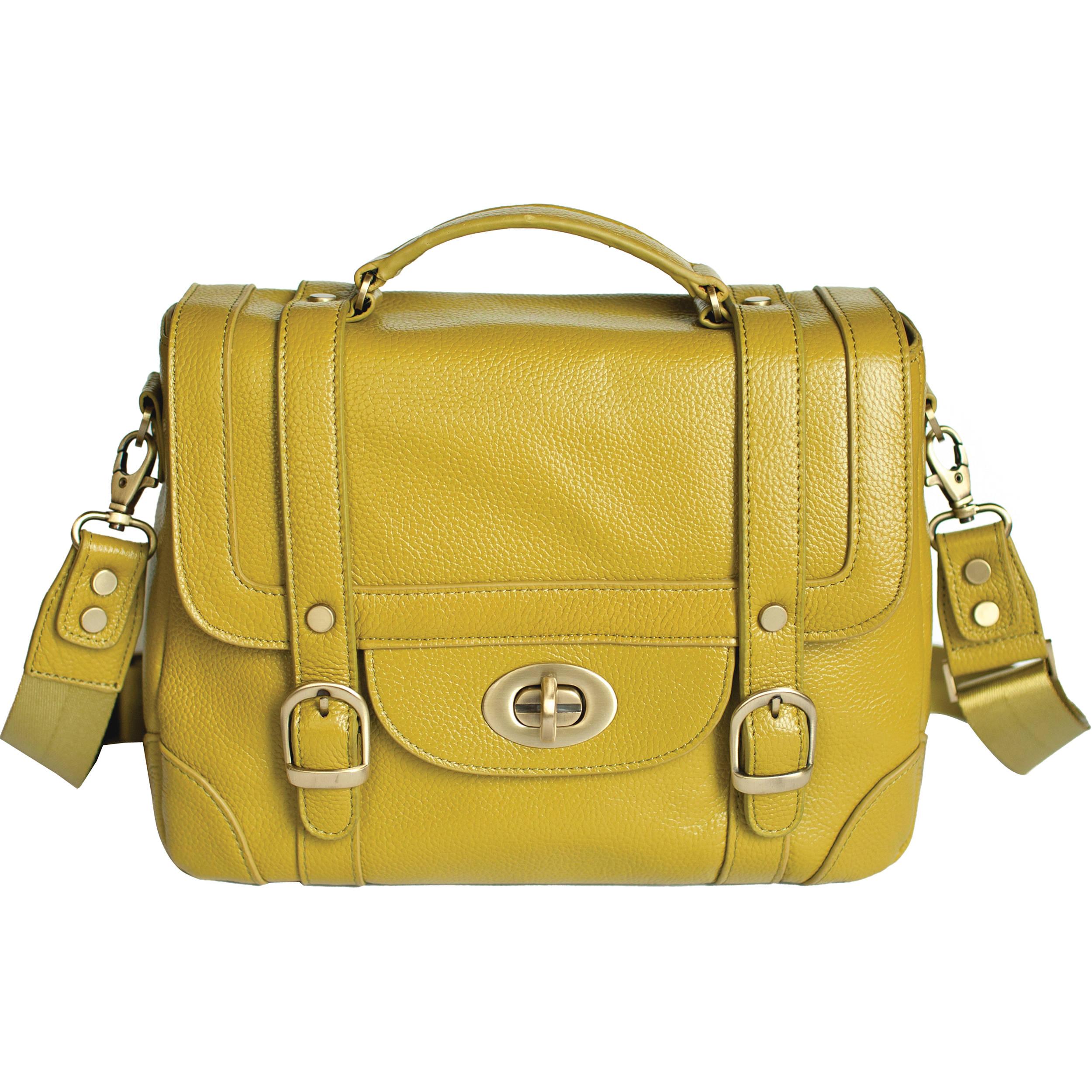 Ketti Handbags The School Camera Bag Moss Green