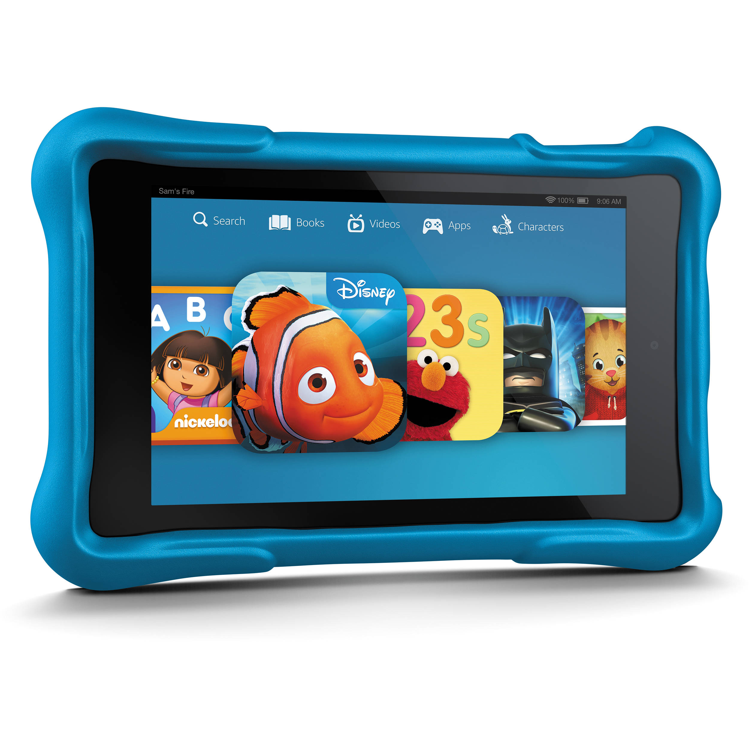 Kindle 8gb Fire Hd Kids 6 Quot Wi Fi Tablet Blue B00lor524m