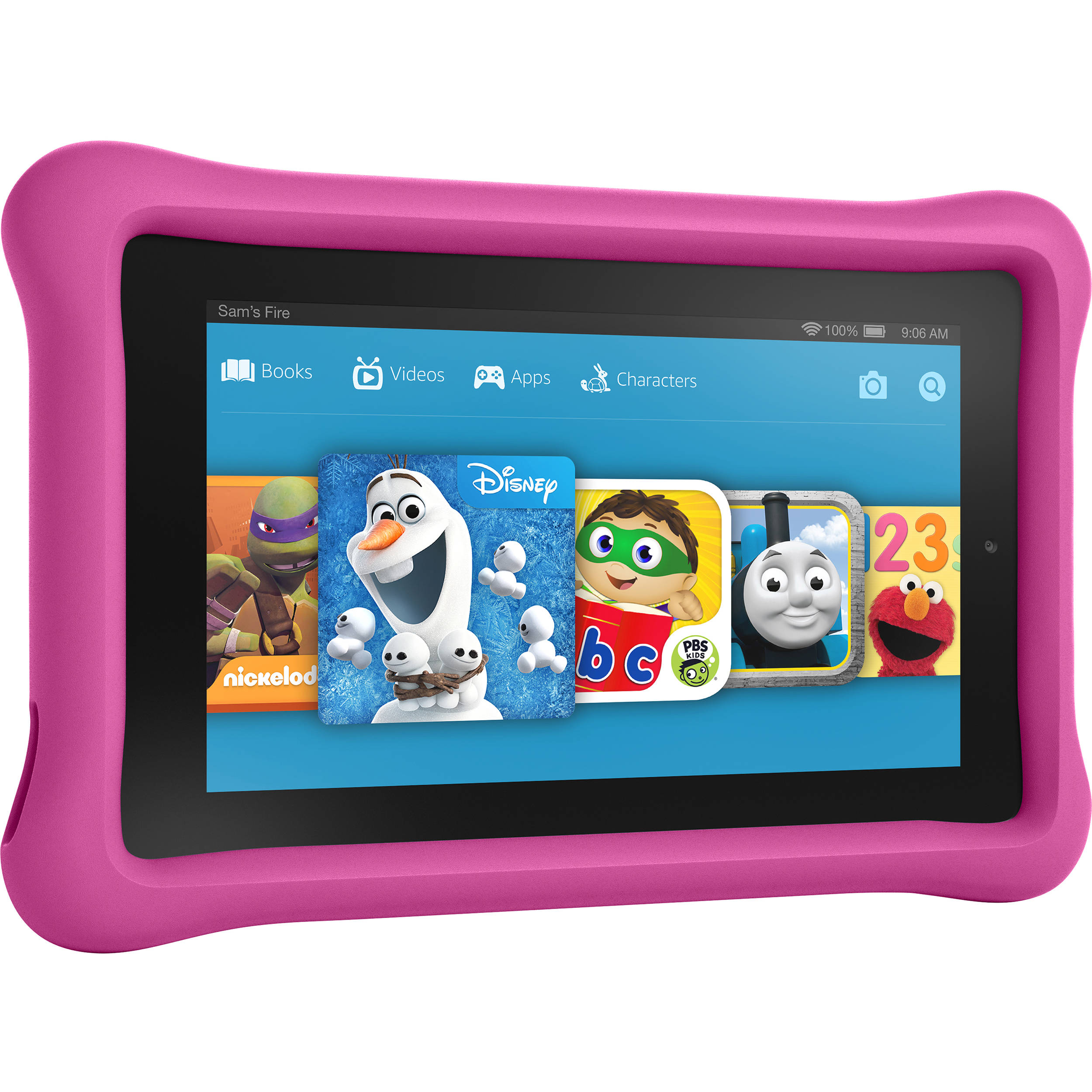 Kindle 7 Quot Fire Kids Edition Tablet Pink B018y226xo B Amp H