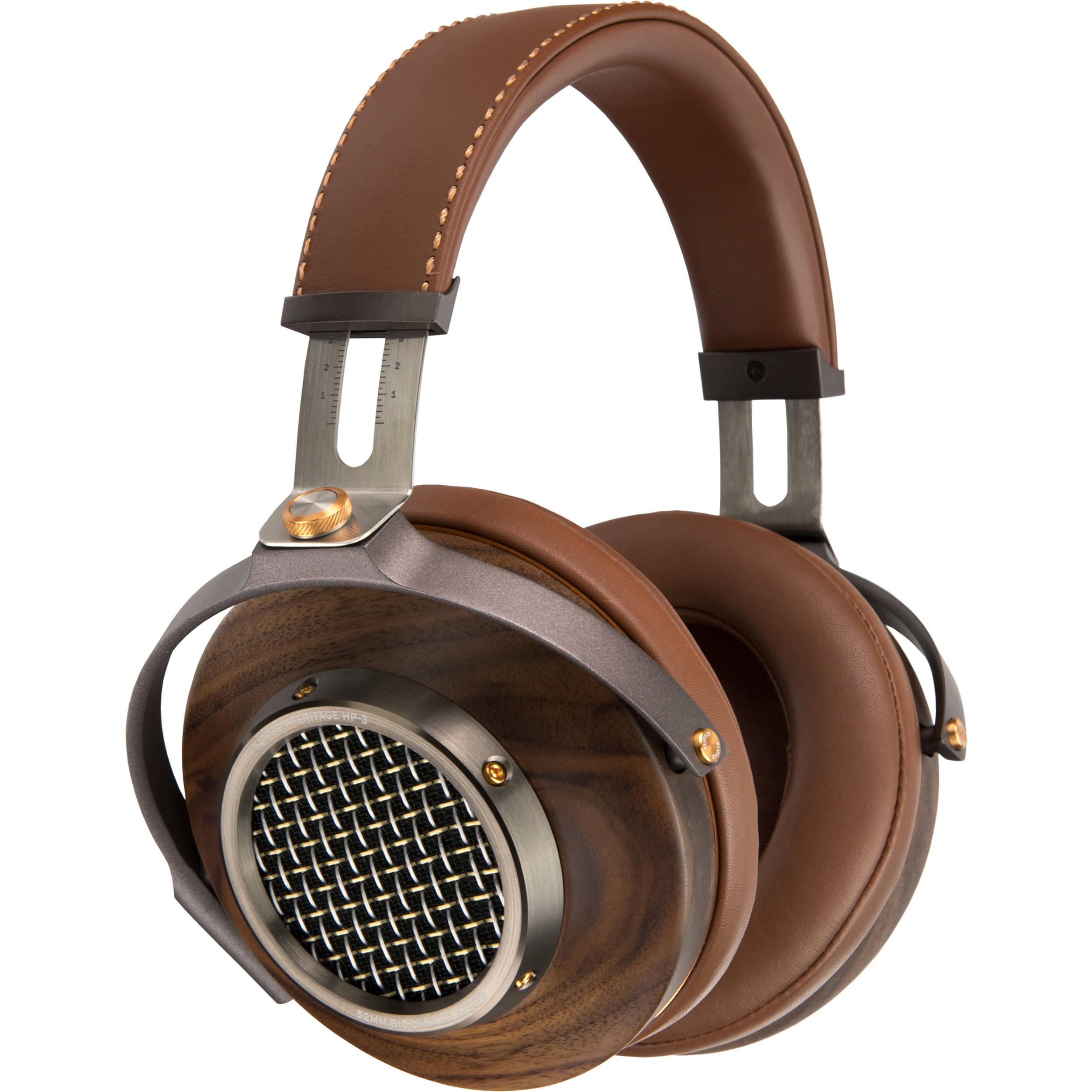 6eadb111c02 KlipschHeritage HP-3 Over-Ear Headphones (Walnut)