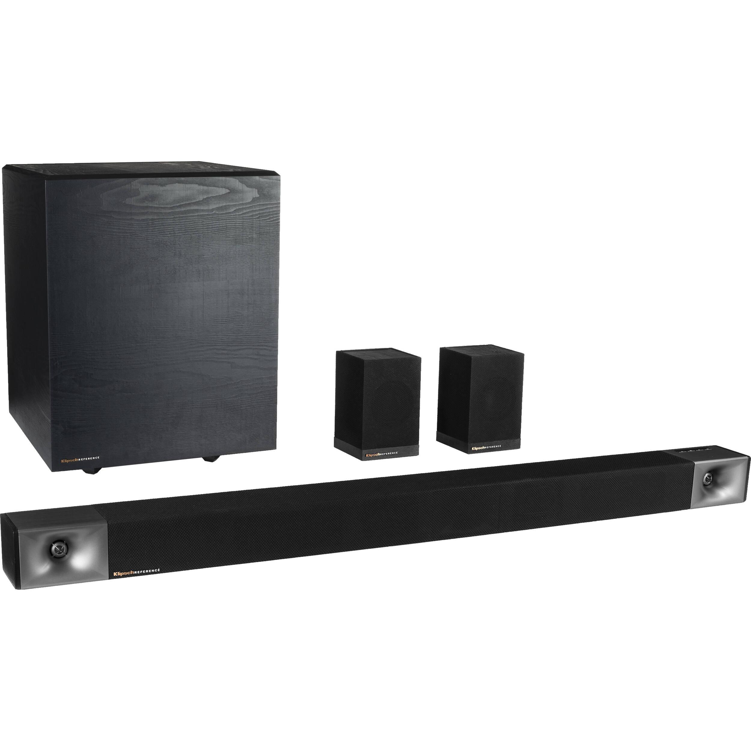 Klipsch Cinema 600 660W 5.1-Channel Soundbar System 1069452 B&H