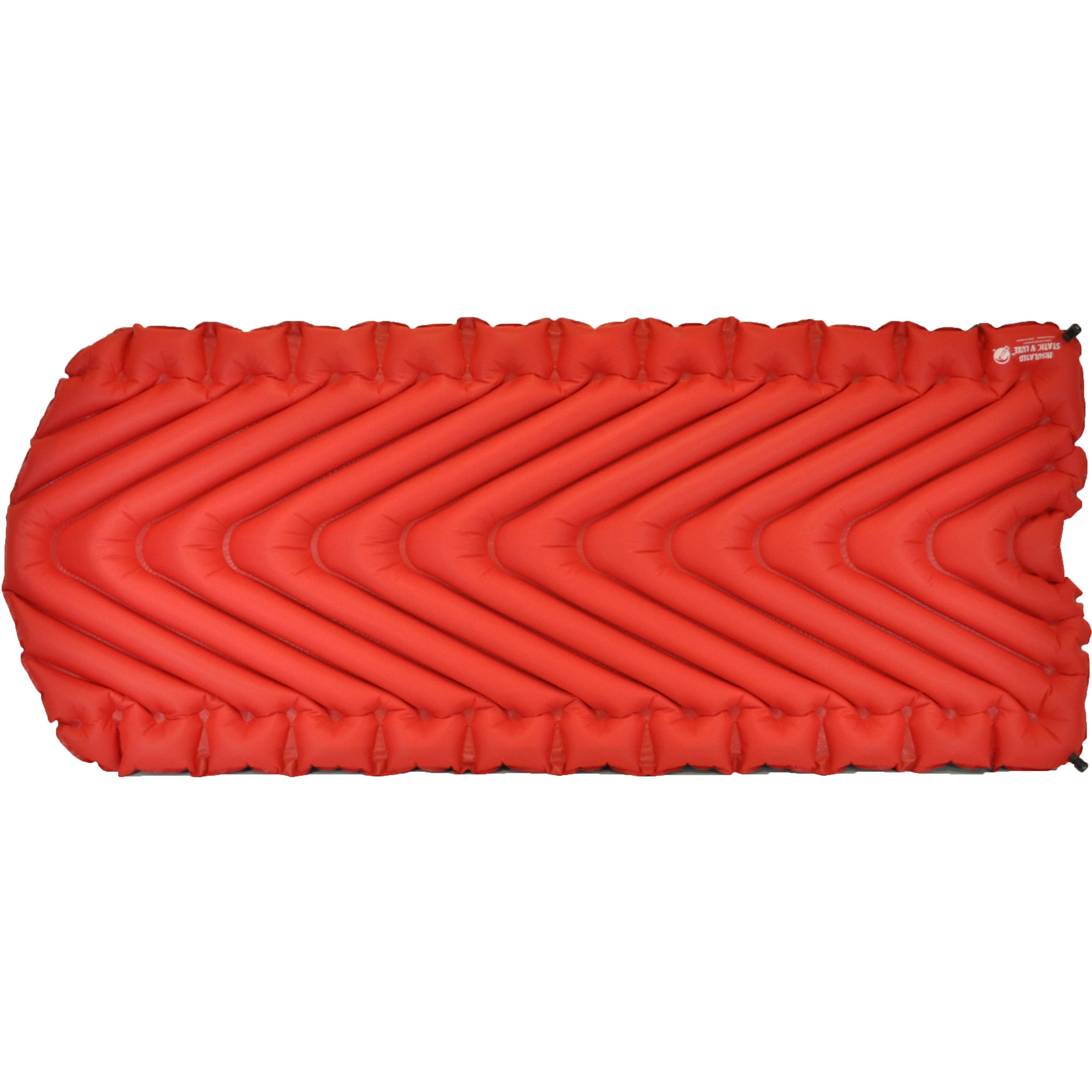 Klymit Insulated Static V Luxe Sleeping Pad 06lird01d B Amp H