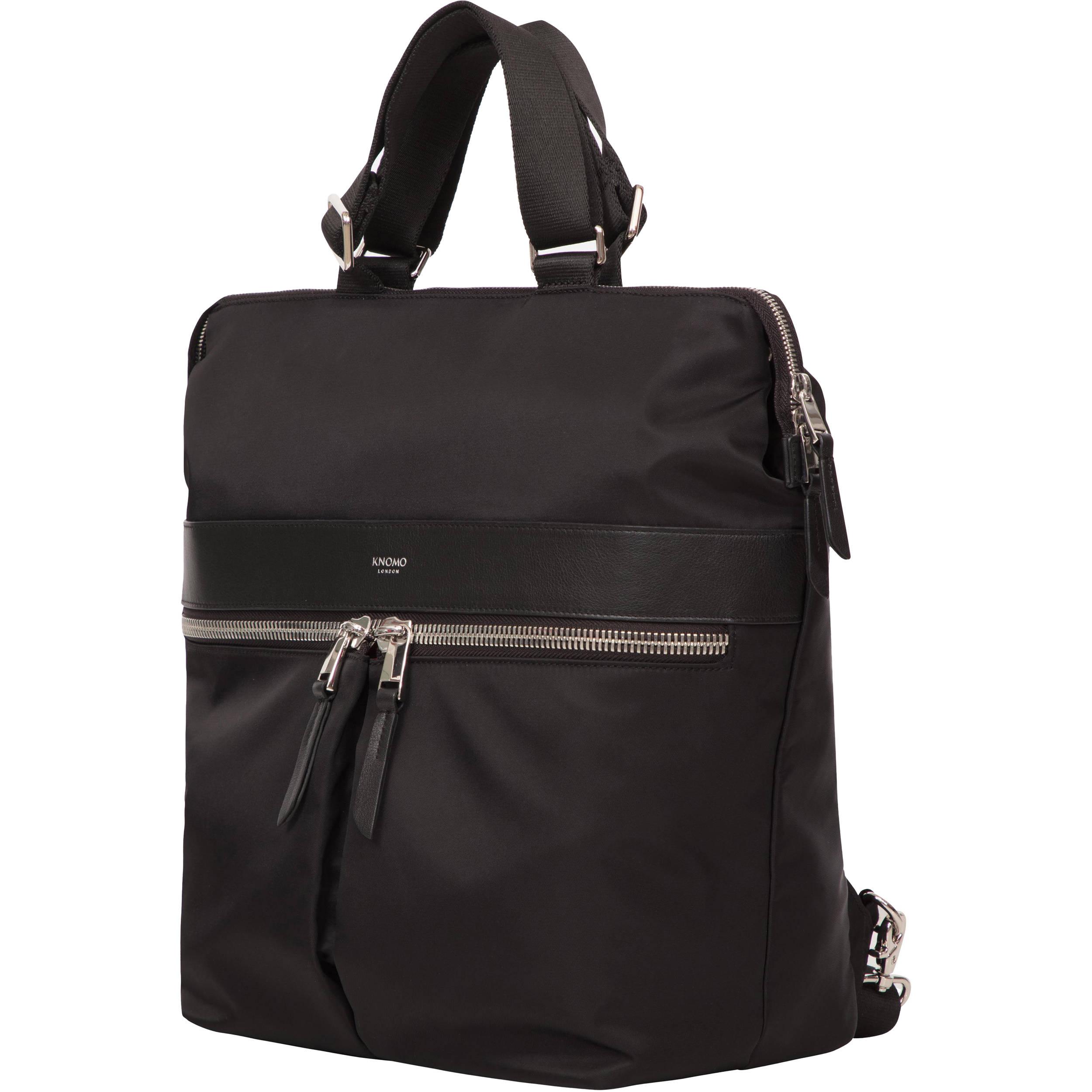 6e4a220b0b KNOMO USA Gilbert Laptop Tote Backpack 14