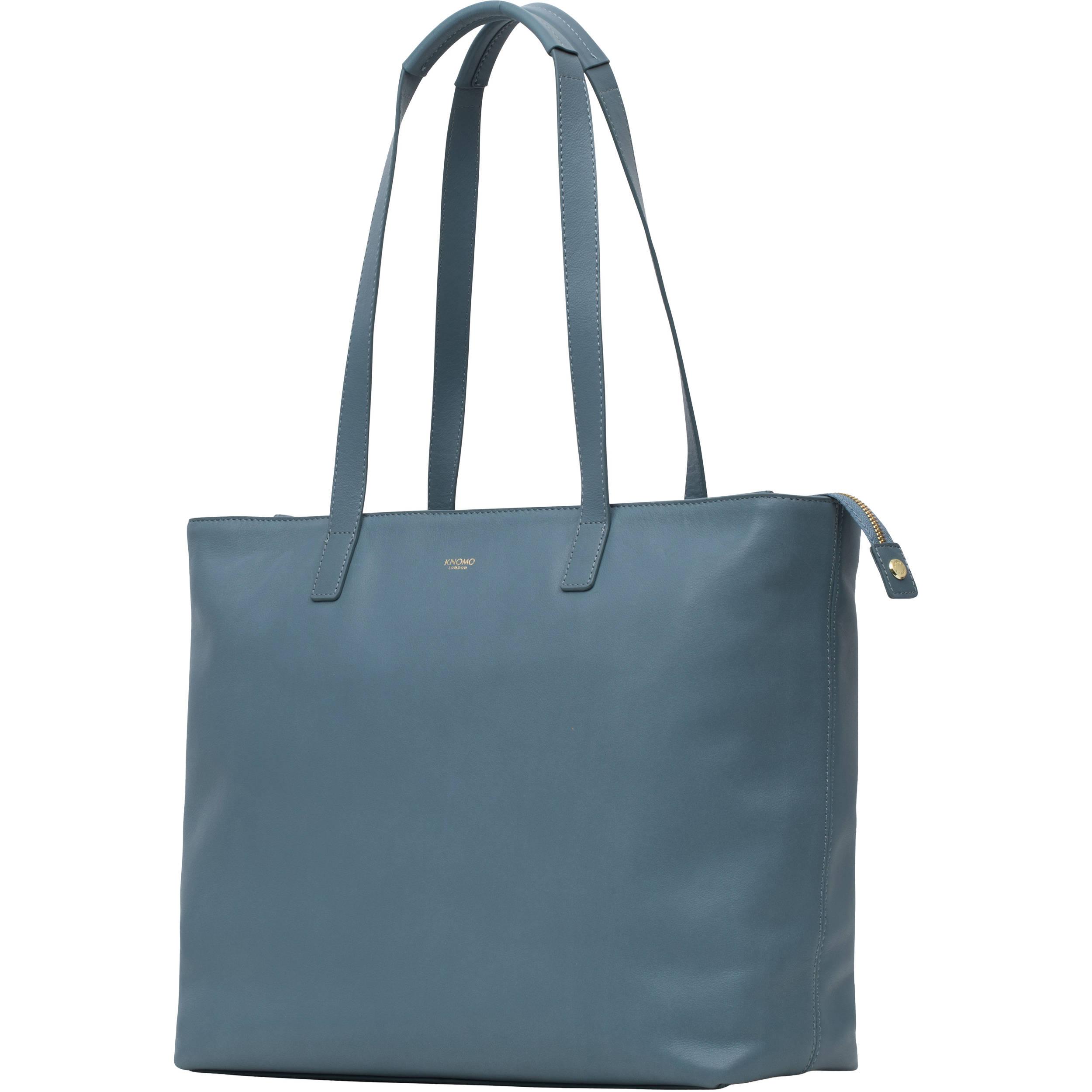75c34f0ec1 KNOMO USA Maddox Leather Laptop Tote Bag 15