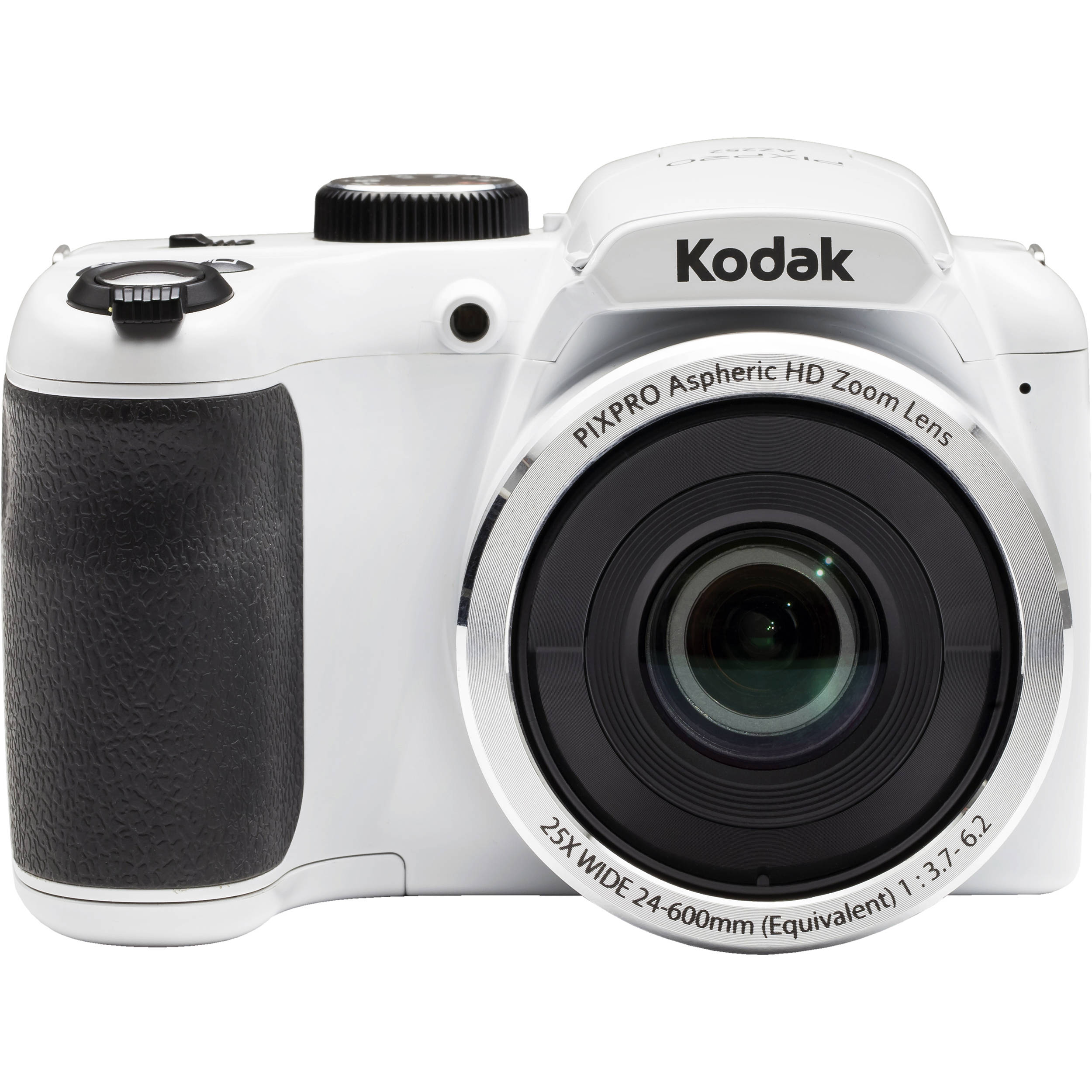 kodak pixpro az252 digital camera white az252wh b h photo rh bhphotovideo com Kodak 3X Optical Zoom Camera Kodak Camera Bike