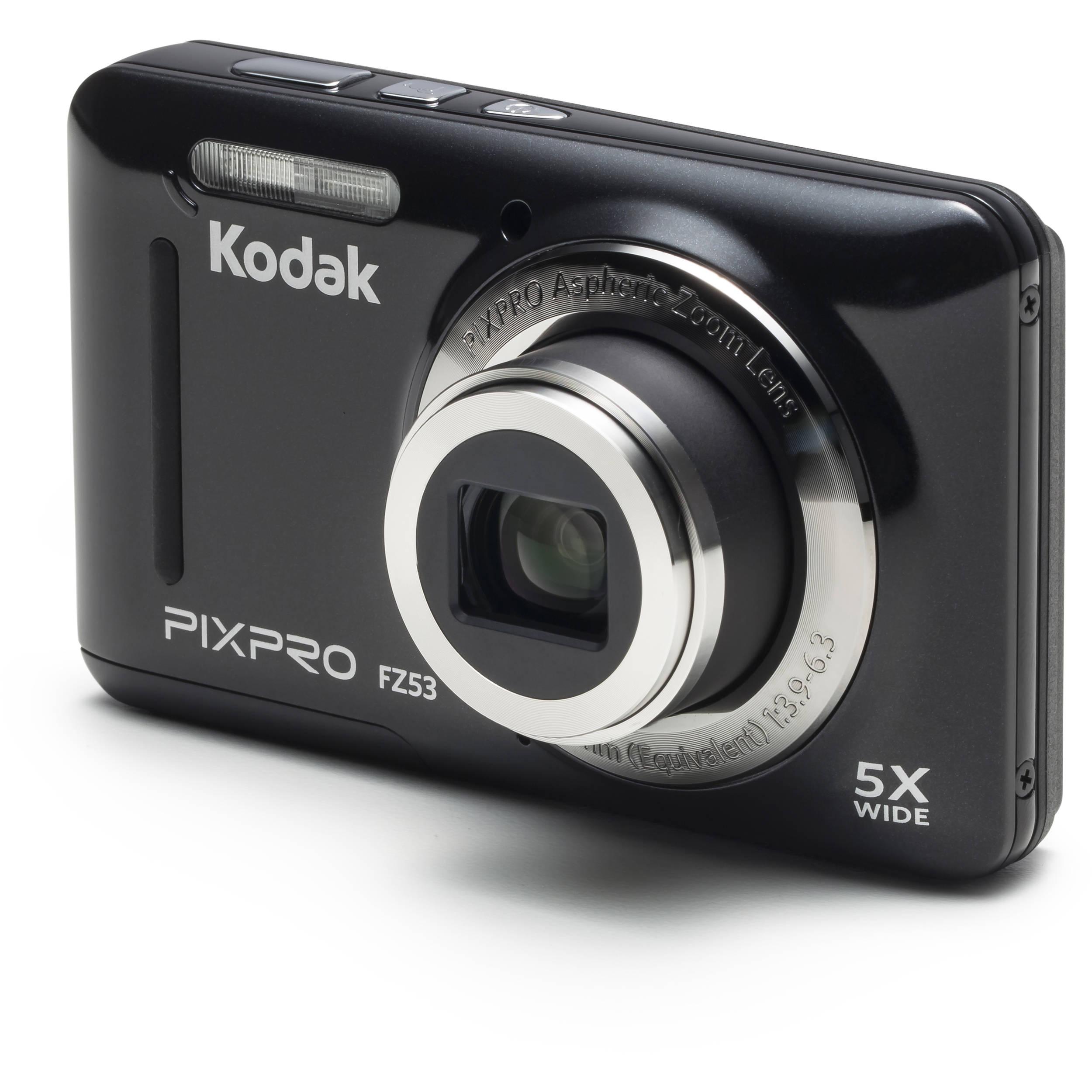 Kodak PIXPRO FZ53 Digital Camera (Black) FZ53-BK B&H Photo Video