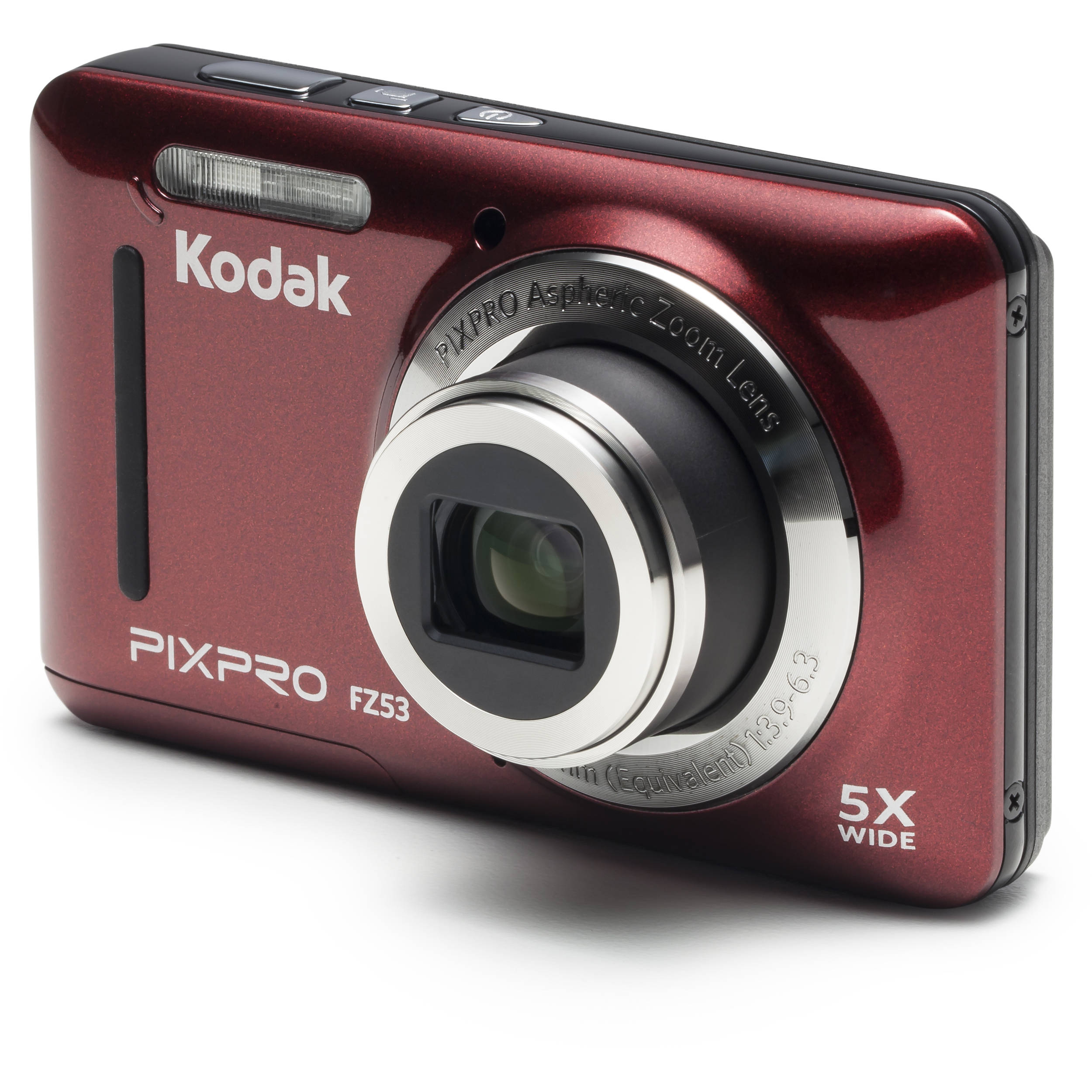 Kodak PIXPRO FZ53 Digital Camera (Red) FZ53-RD B&H Photo Video