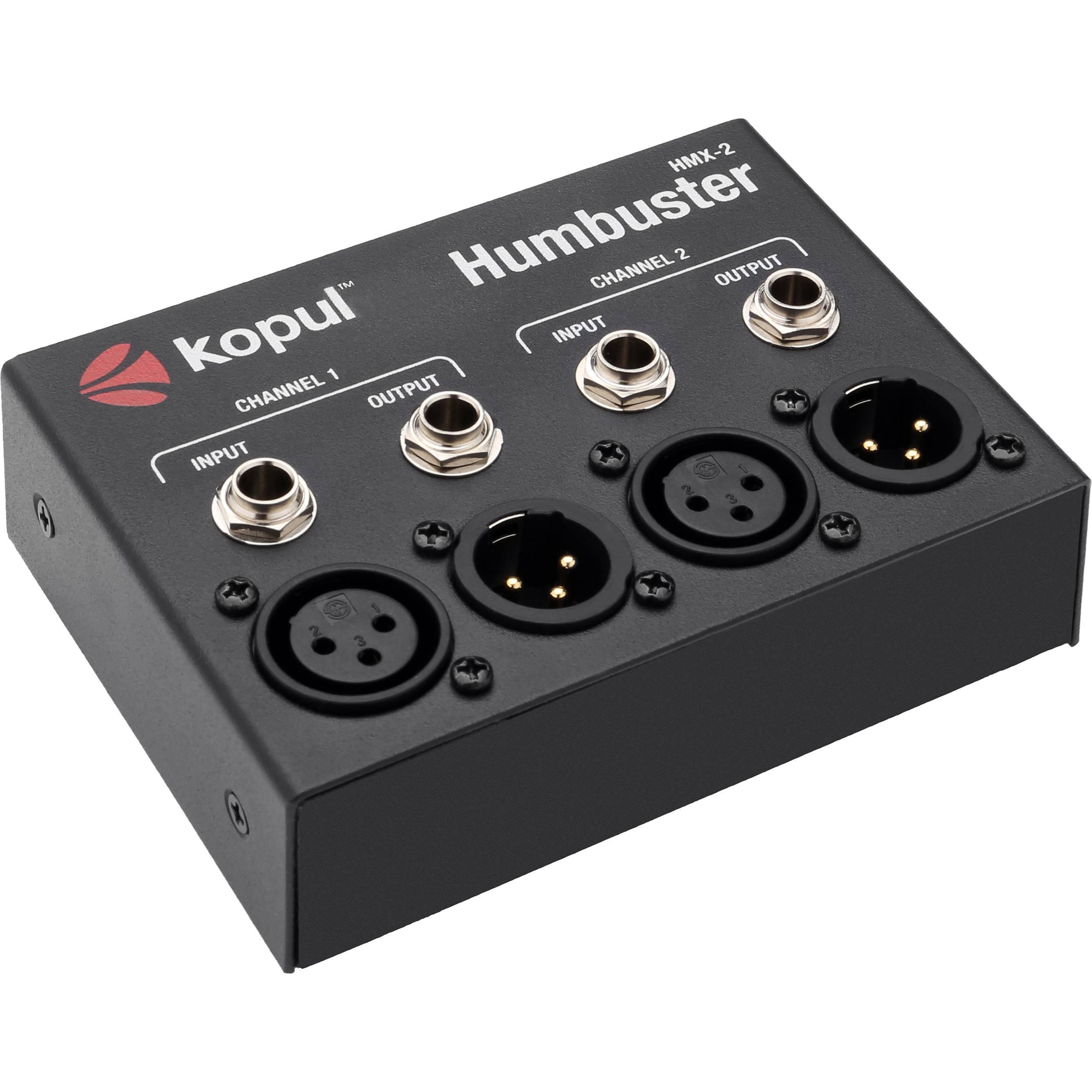 Kopul Hmx 2 Humbuster Dual Channel Hum Eliminator Hmx 2 B Amp H