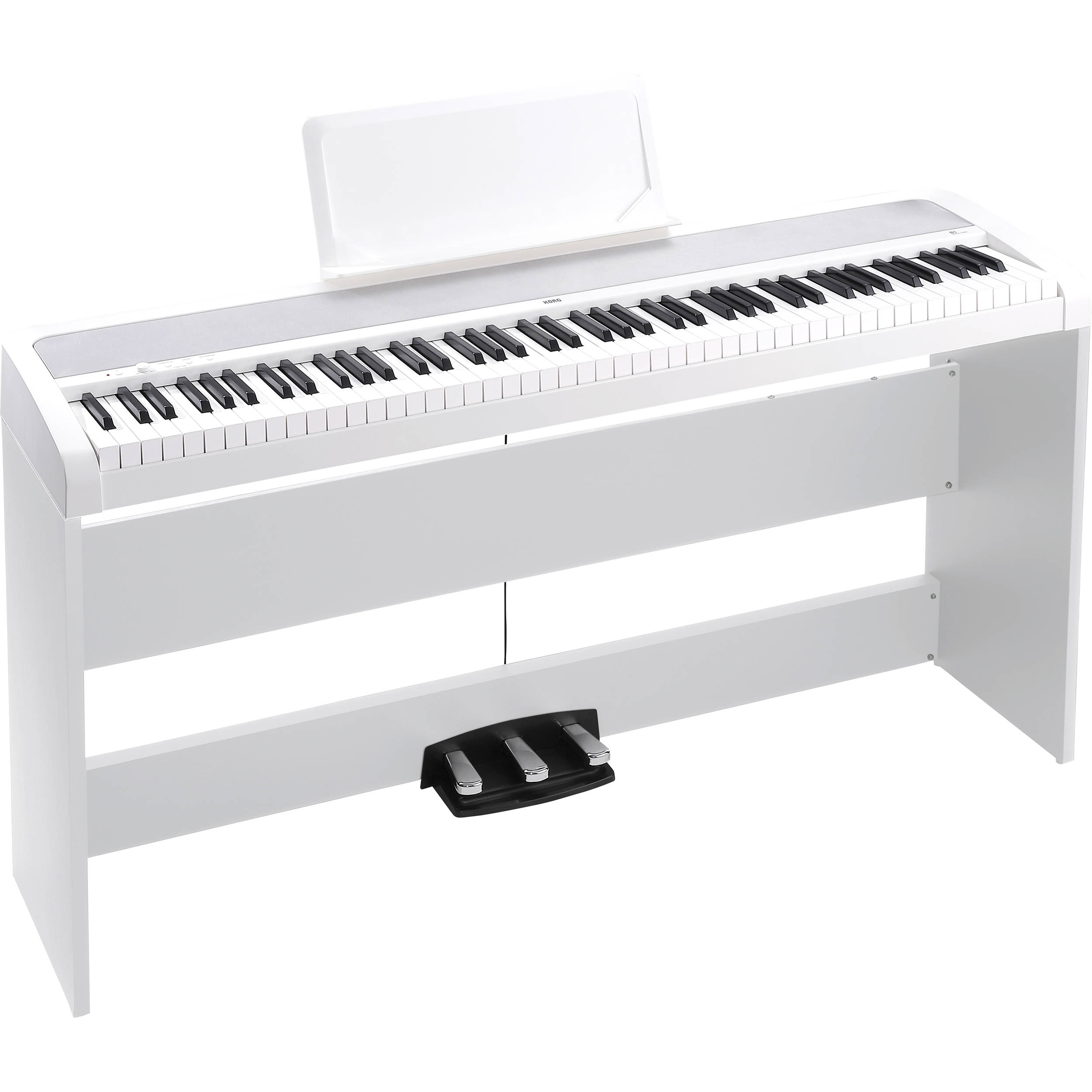 korg b1sp digital piano with stand and pedalboard b1spwh b h