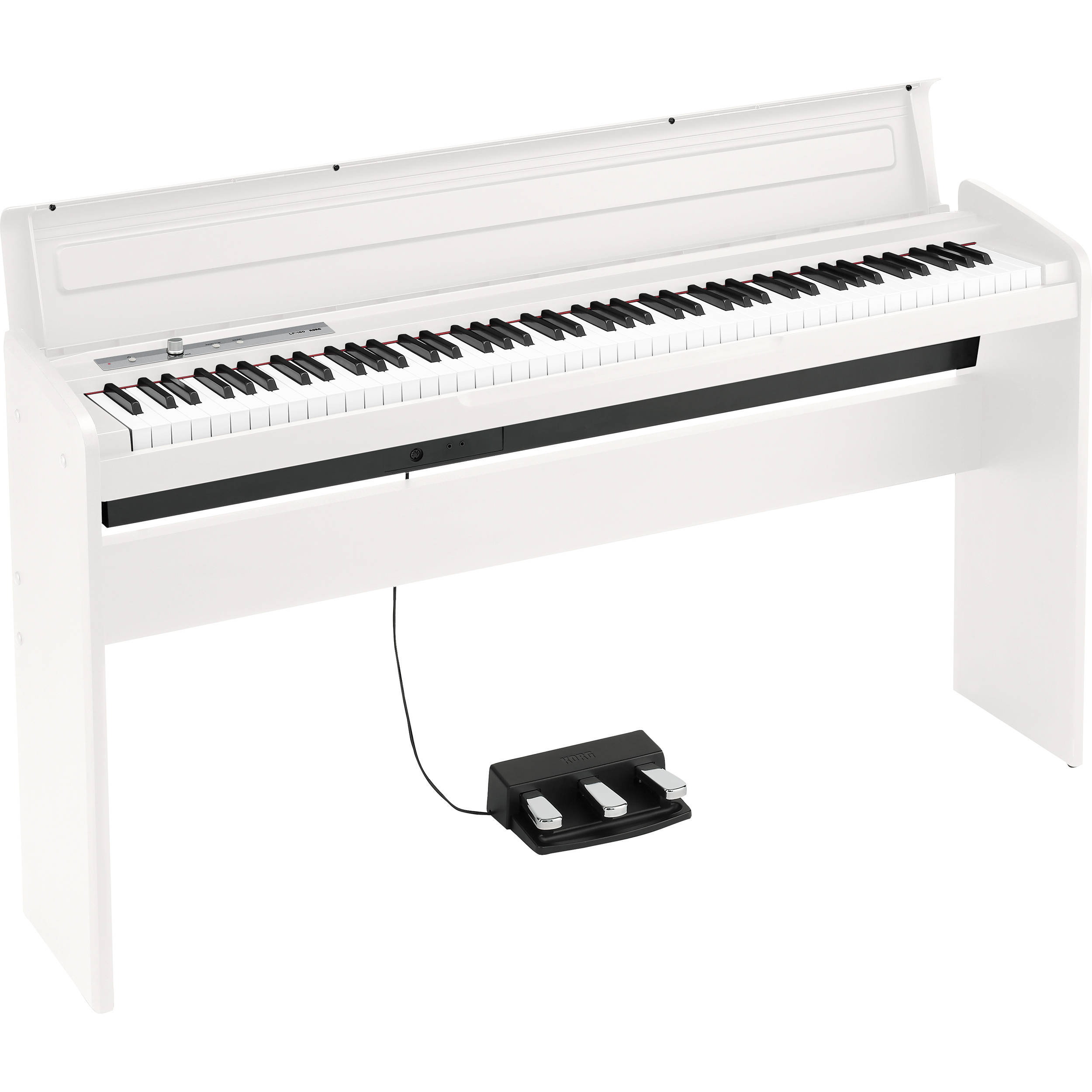 korg lp 180 digital piano white lp180wh b h photo video. Black Bedroom Furniture Sets. Home Design Ideas