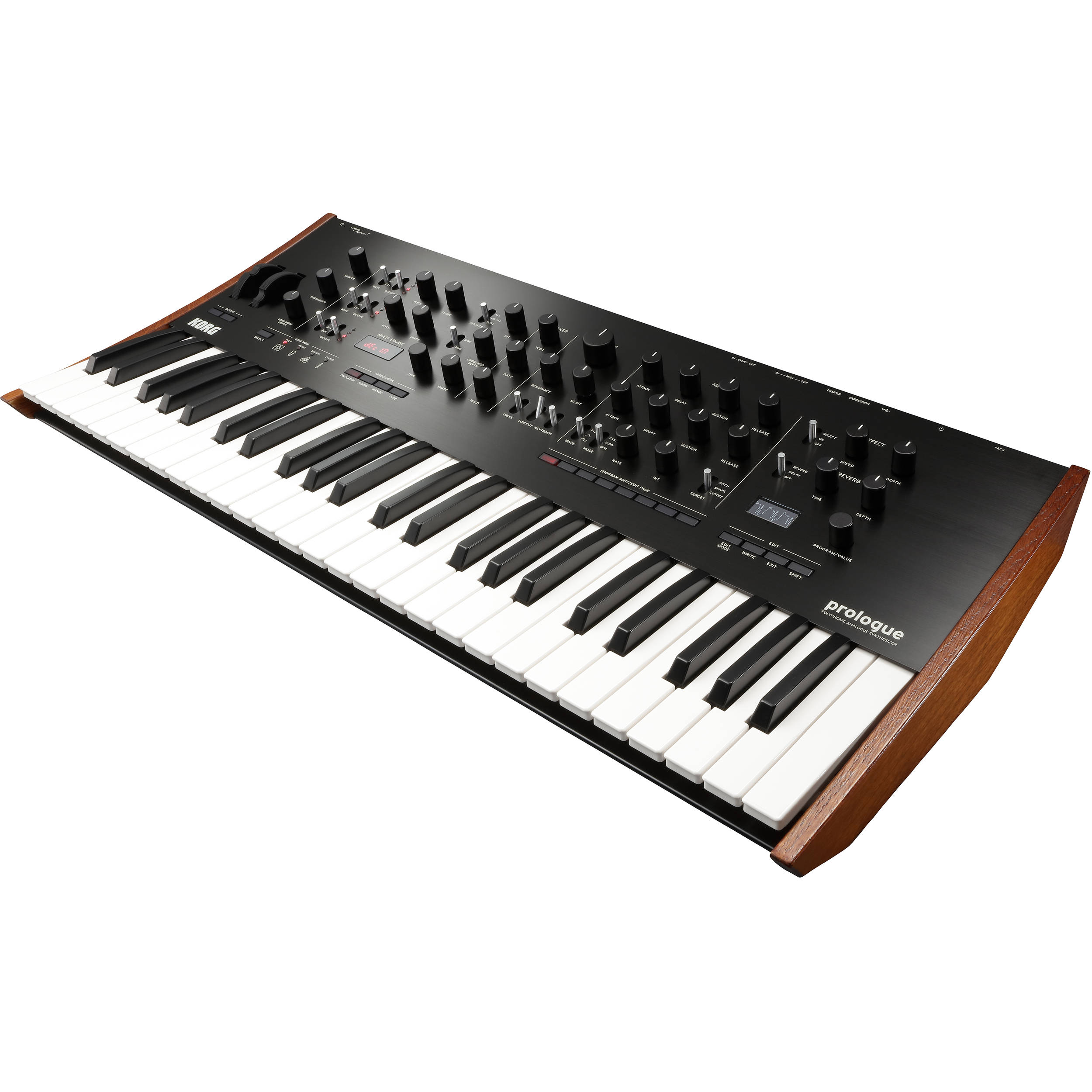 Prologue - Polyphonic Analog Synthesizer (8-Voice)
