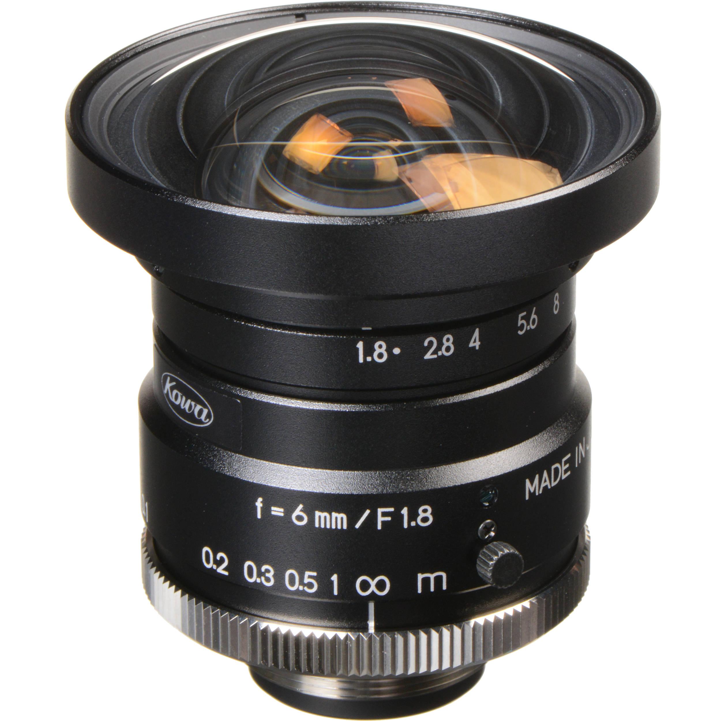 Инструкция к объективу computar 1 3 2 6mm с автодиафрагмой