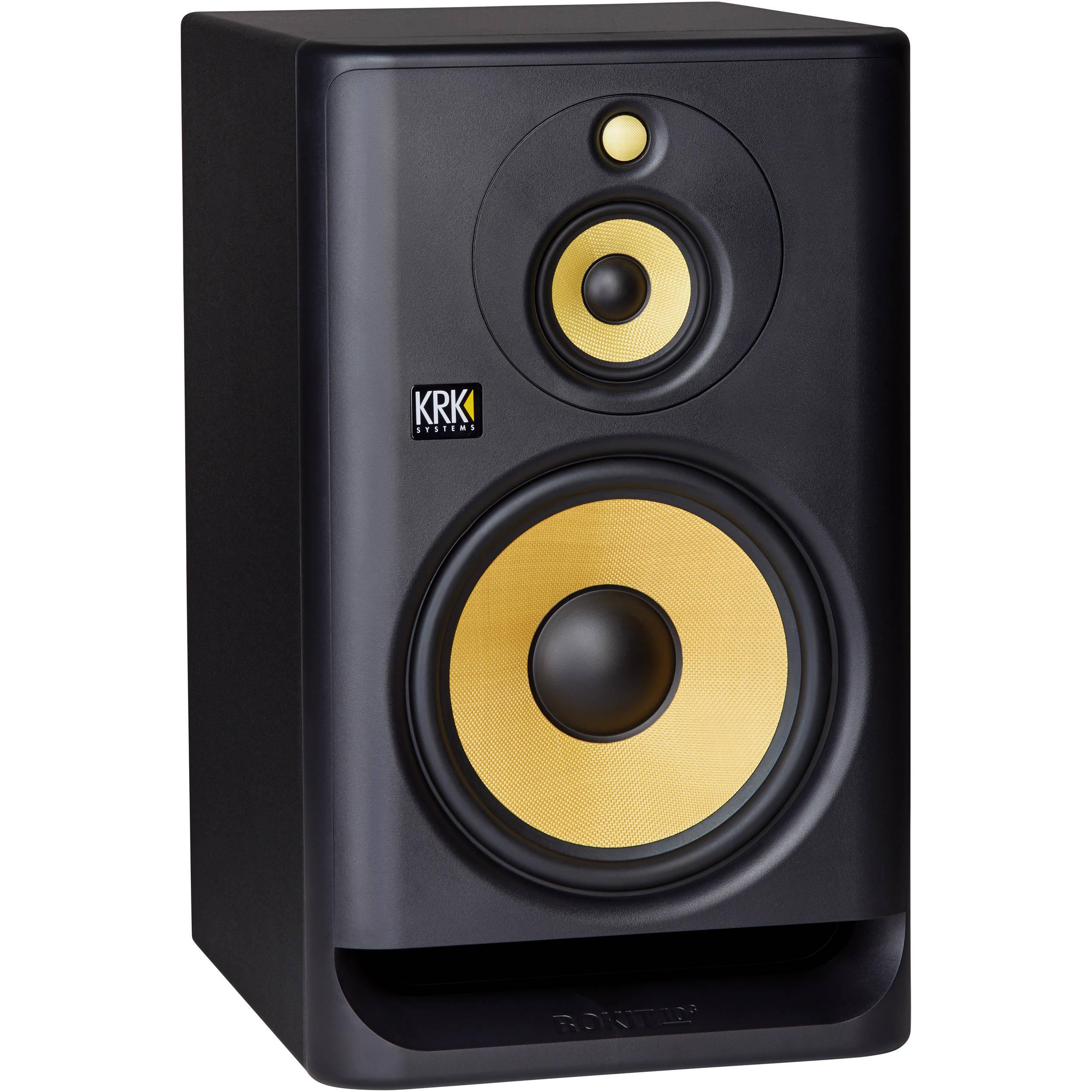 krk rokit 10 g4 10 3 way active studio monitor rp103 g4. Black Bedroom Furniture Sets. Home Design Ideas