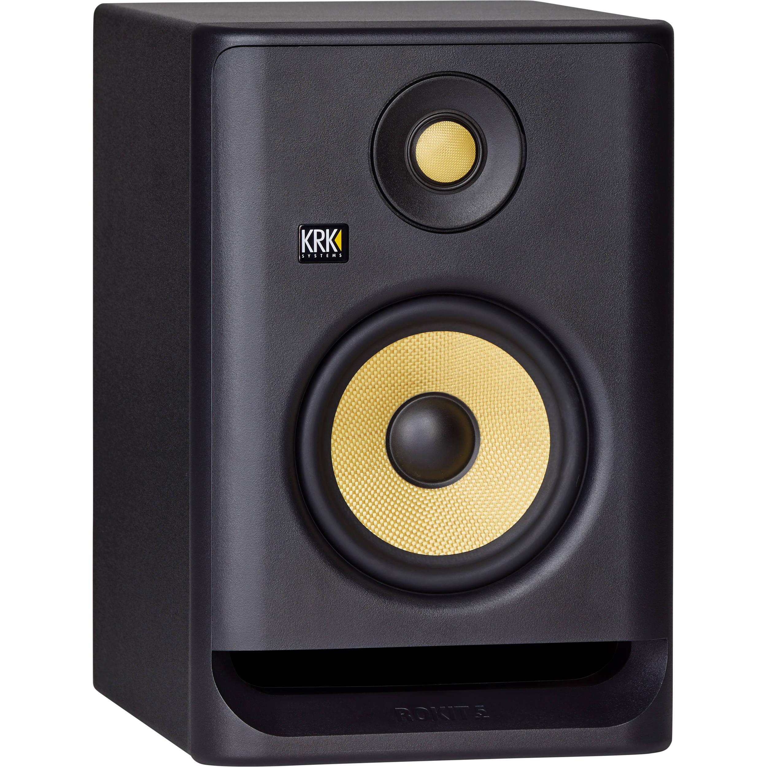 krk rokit 5 g4 5 2 way active studio monitor rp5 g4. Black Bedroom Furniture Sets. Home Design Ideas