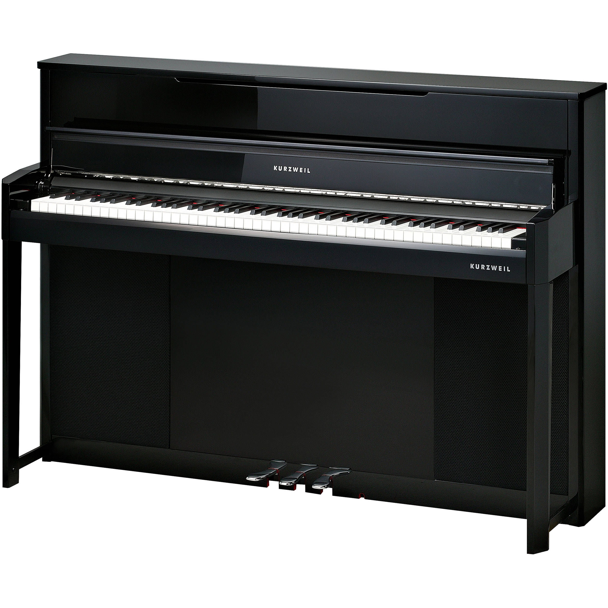 kurzweil cup1 ep compact digital upright piano ebony cup1 ep. Black Bedroom Furniture Sets. Home Design Ideas