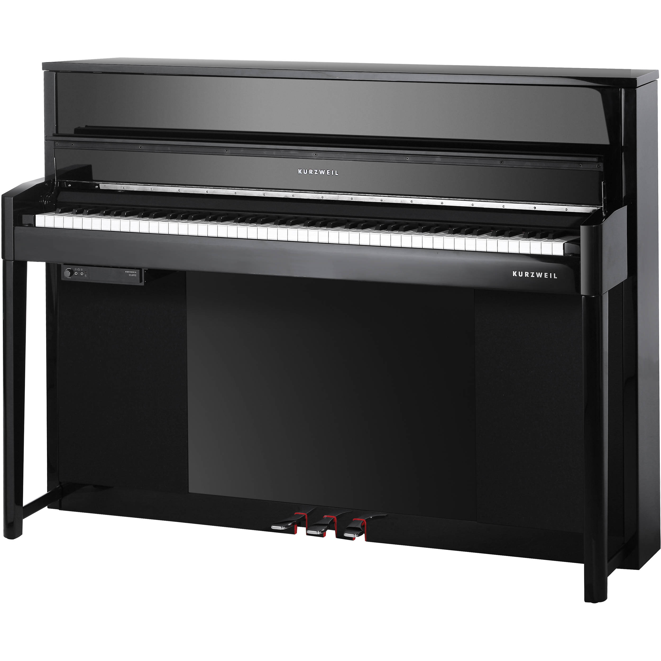 kurzweil cup2 bp compact upright digital piano black cup2 bp. Black Bedroom Furniture Sets. Home Design Ideas