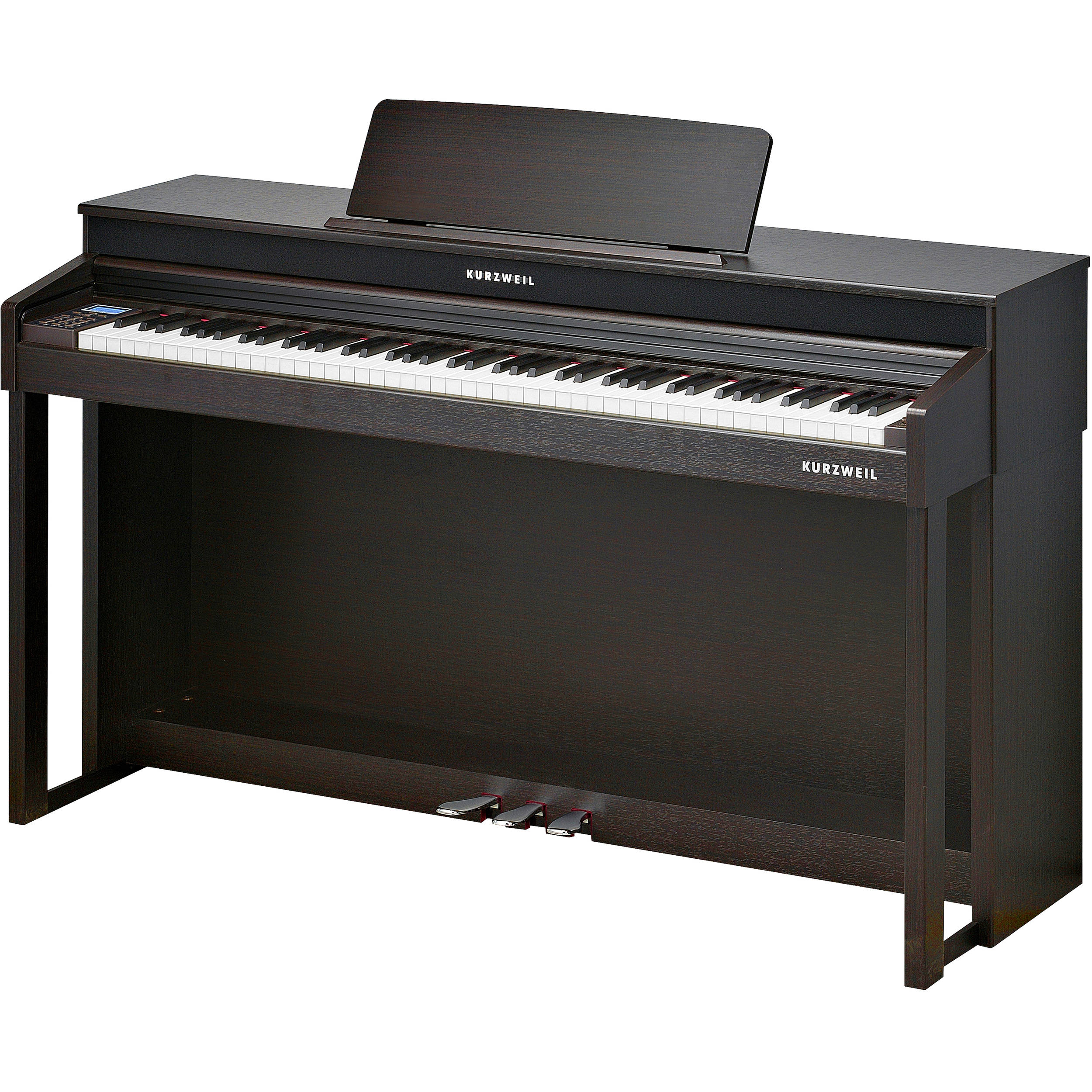 kurzweil digital upright piano rosewood cup310 sr b h photo. Black Bedroom Furniture Sets. Home Design Ideas