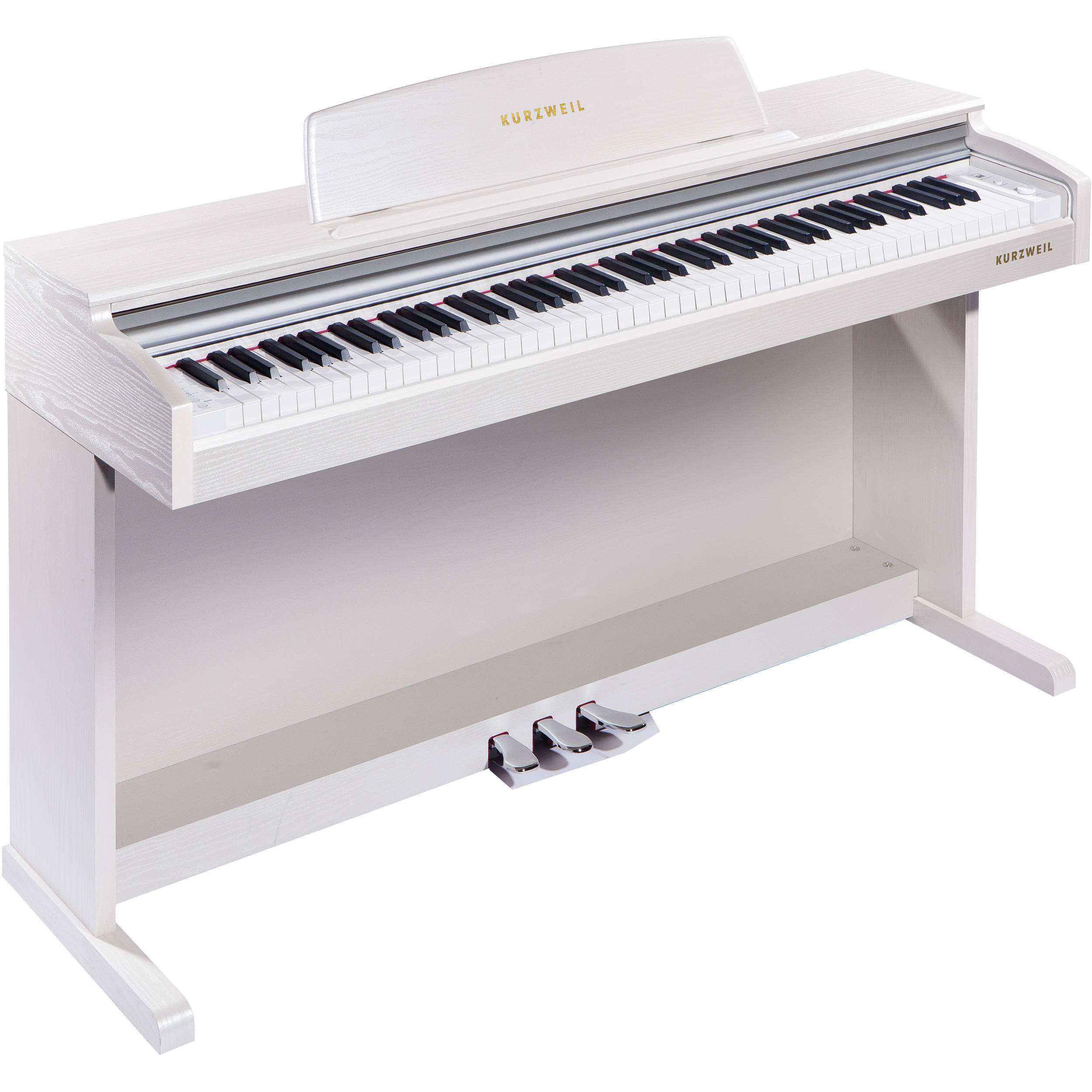 kurzweil m210 wh digital piano white m210 wh b h photo video. Black Bedroom Furniture Sets. Home Design Ideas