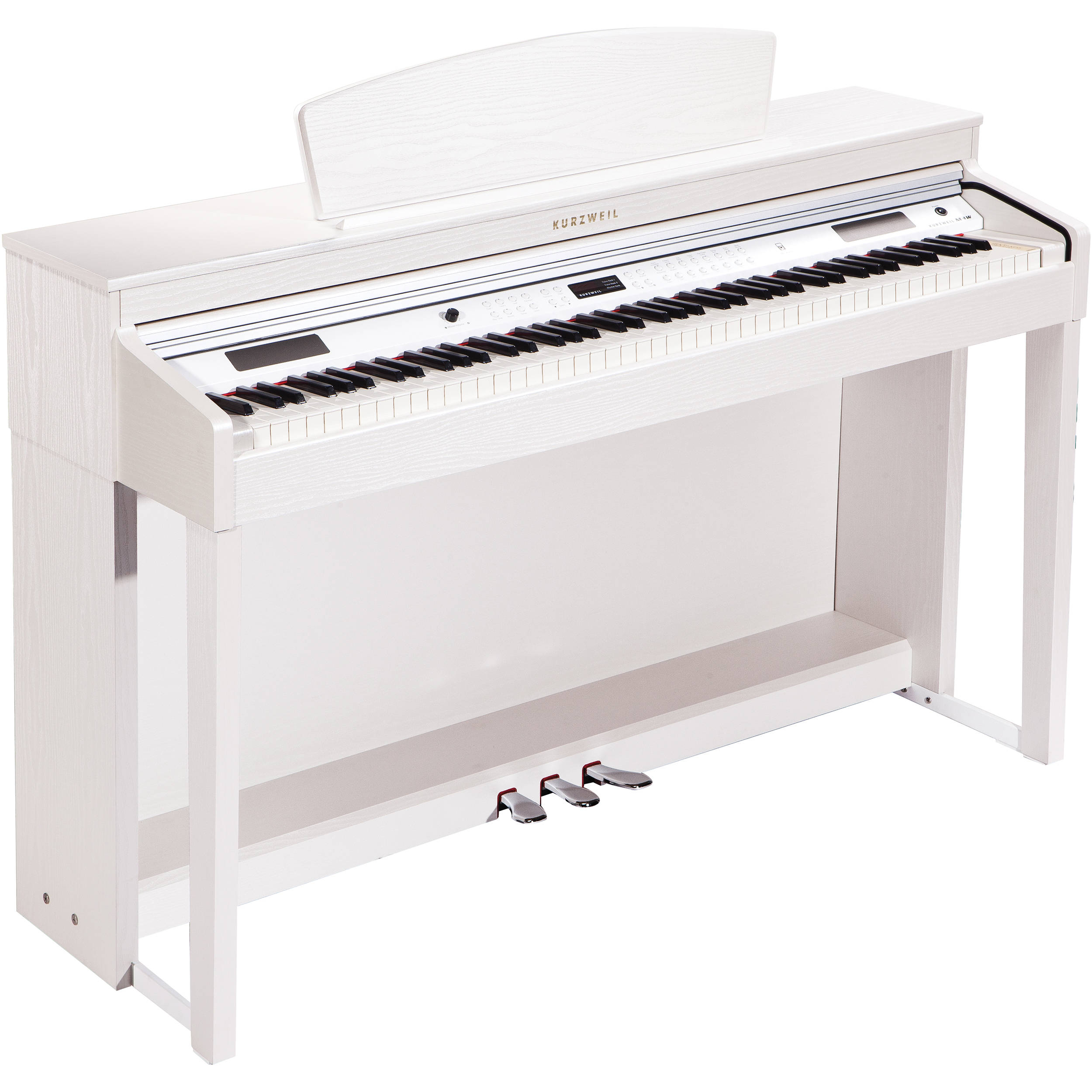 kurzweil m3w digital piano white m3w wh b h photo video. Black Bedroom Furniture Sets. Home Design Ideas