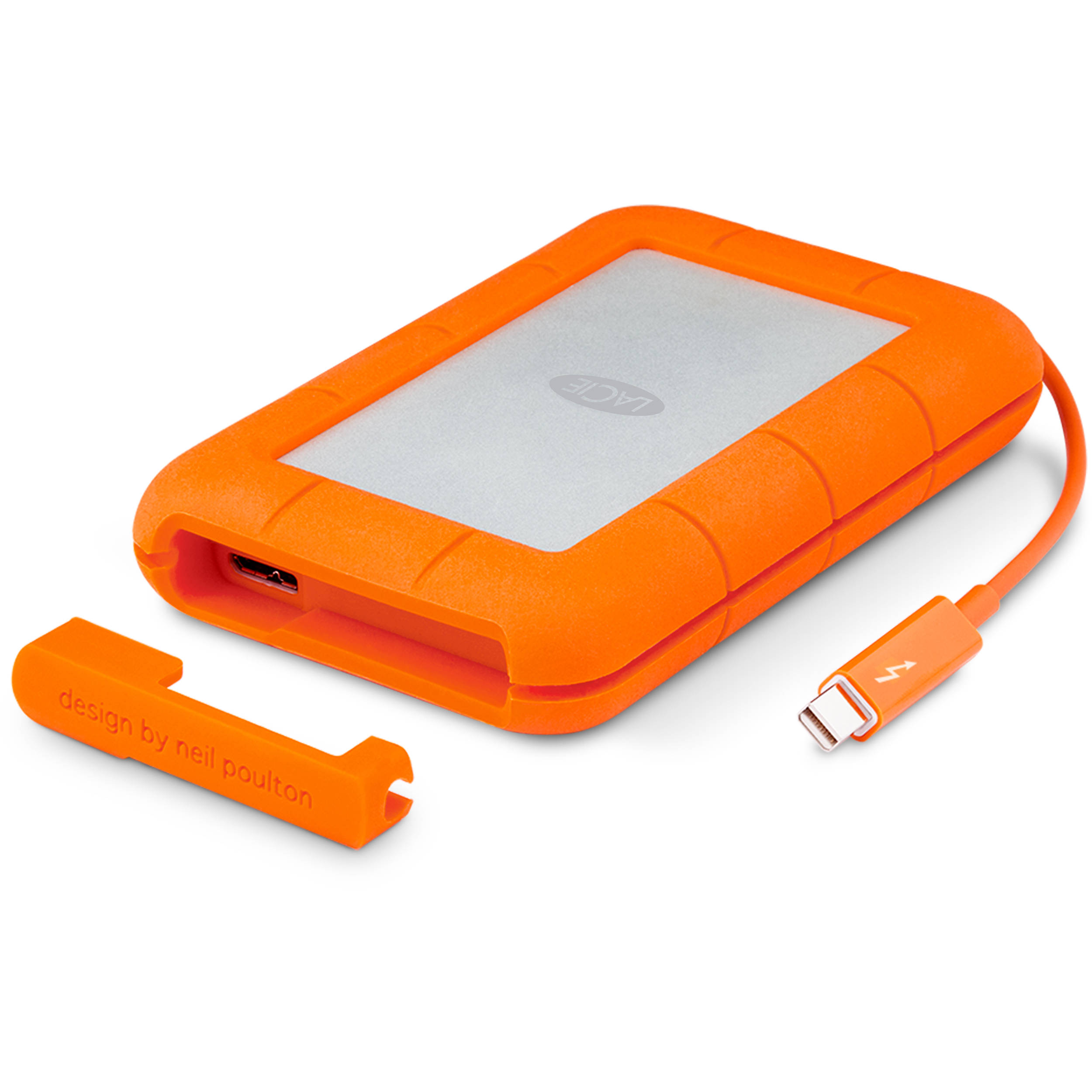Lacie 2tb Rugged Mobile Hard Drive Stev2000400 B Amp H Photo Video