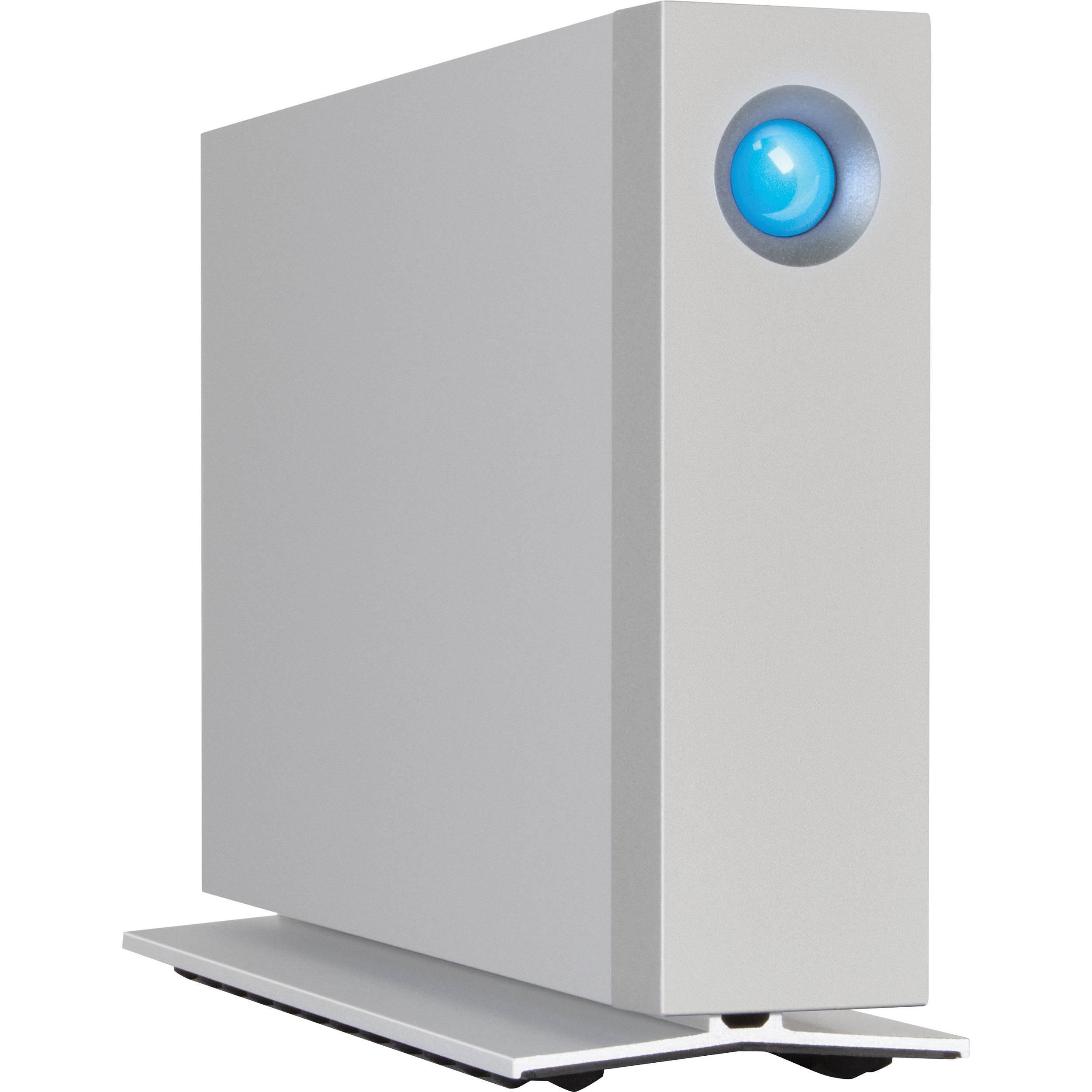 Lacie 3tb D2 Thunderbolt 2 Desktop Hard Drive Stex3000100 B H
