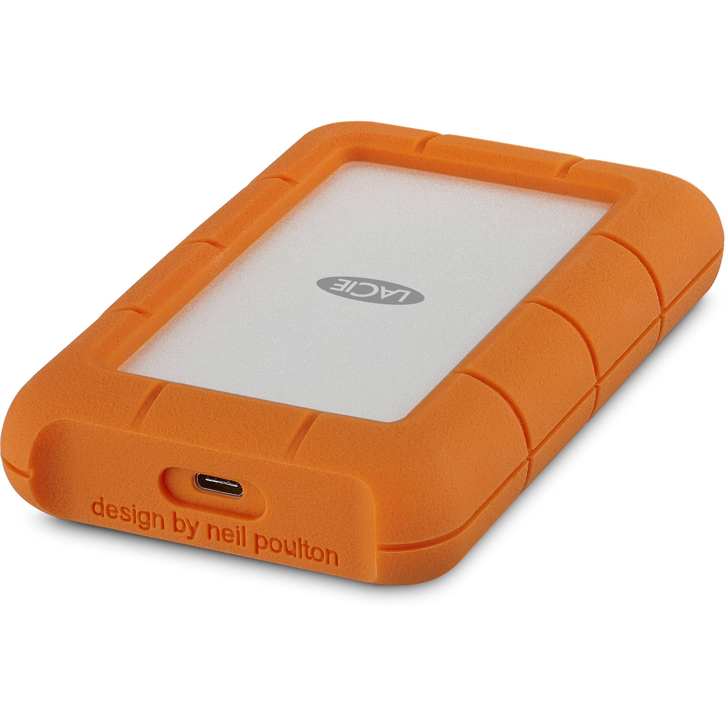 Lacie 1tb Rugged Usb 3 0 Type C External Hard Drive