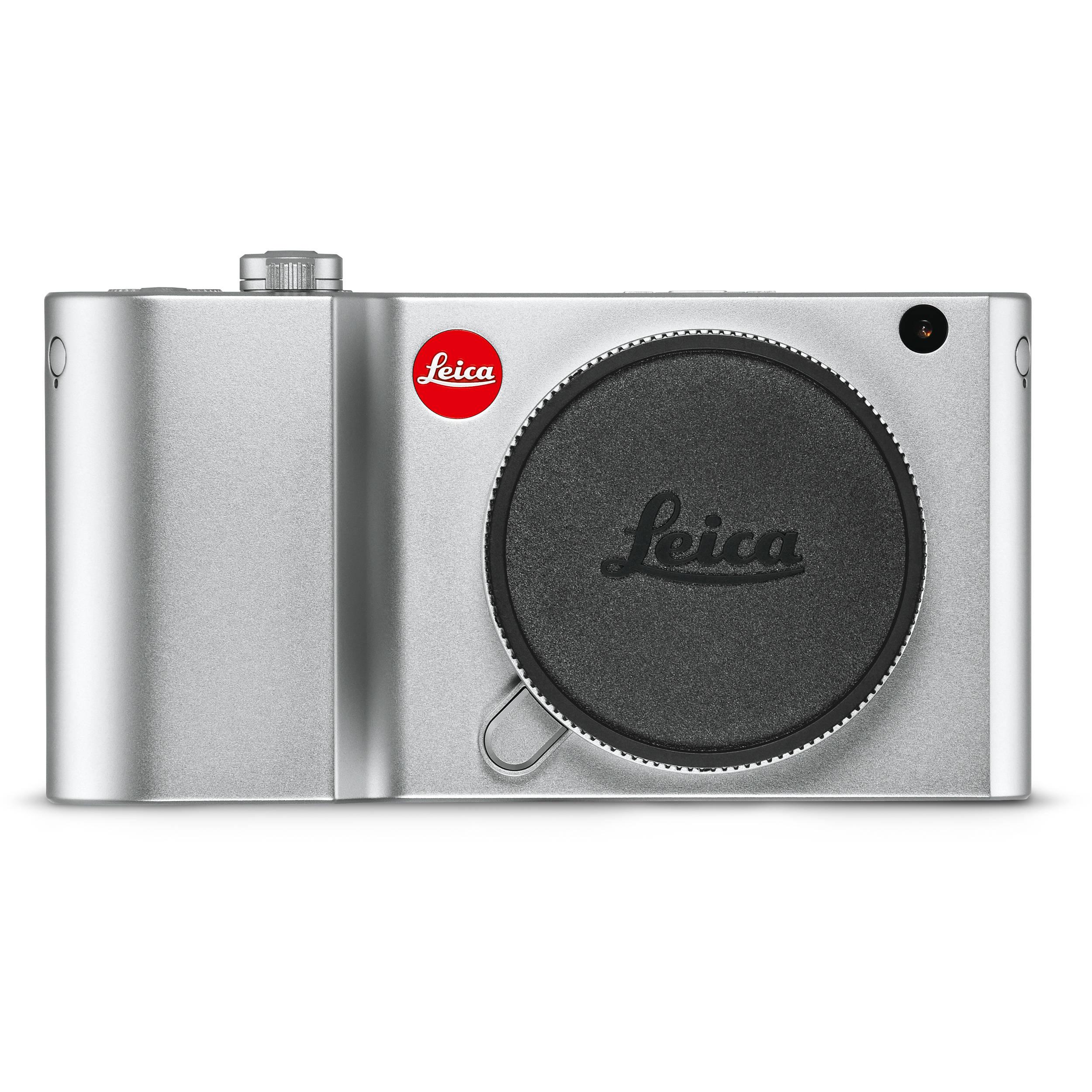 Leica TL2 Mirrorless Digital Camera (Silver) 18188 B&H Photo