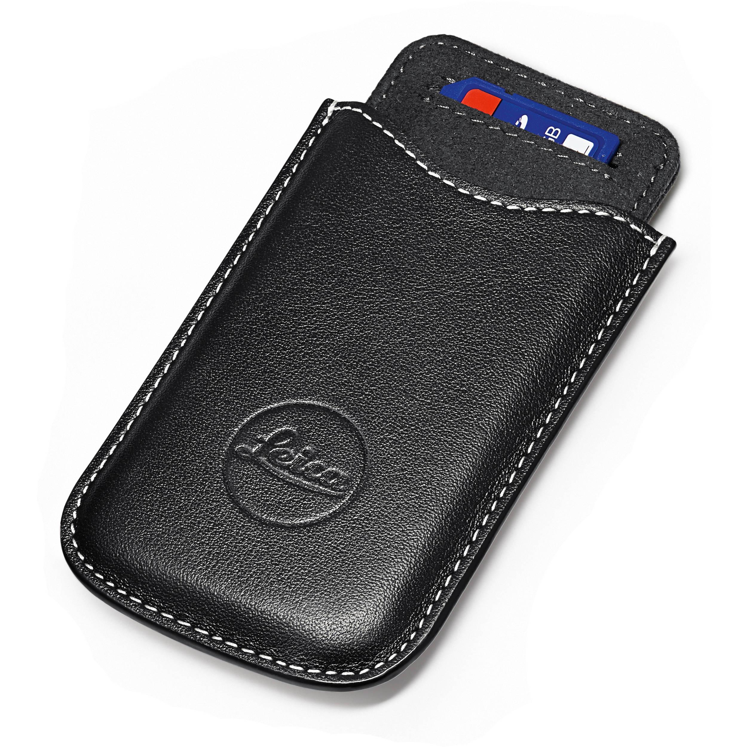 8a0bab7e5b8 Leica SD and Credit Card Holder (Black) 18538 B H Photo Video