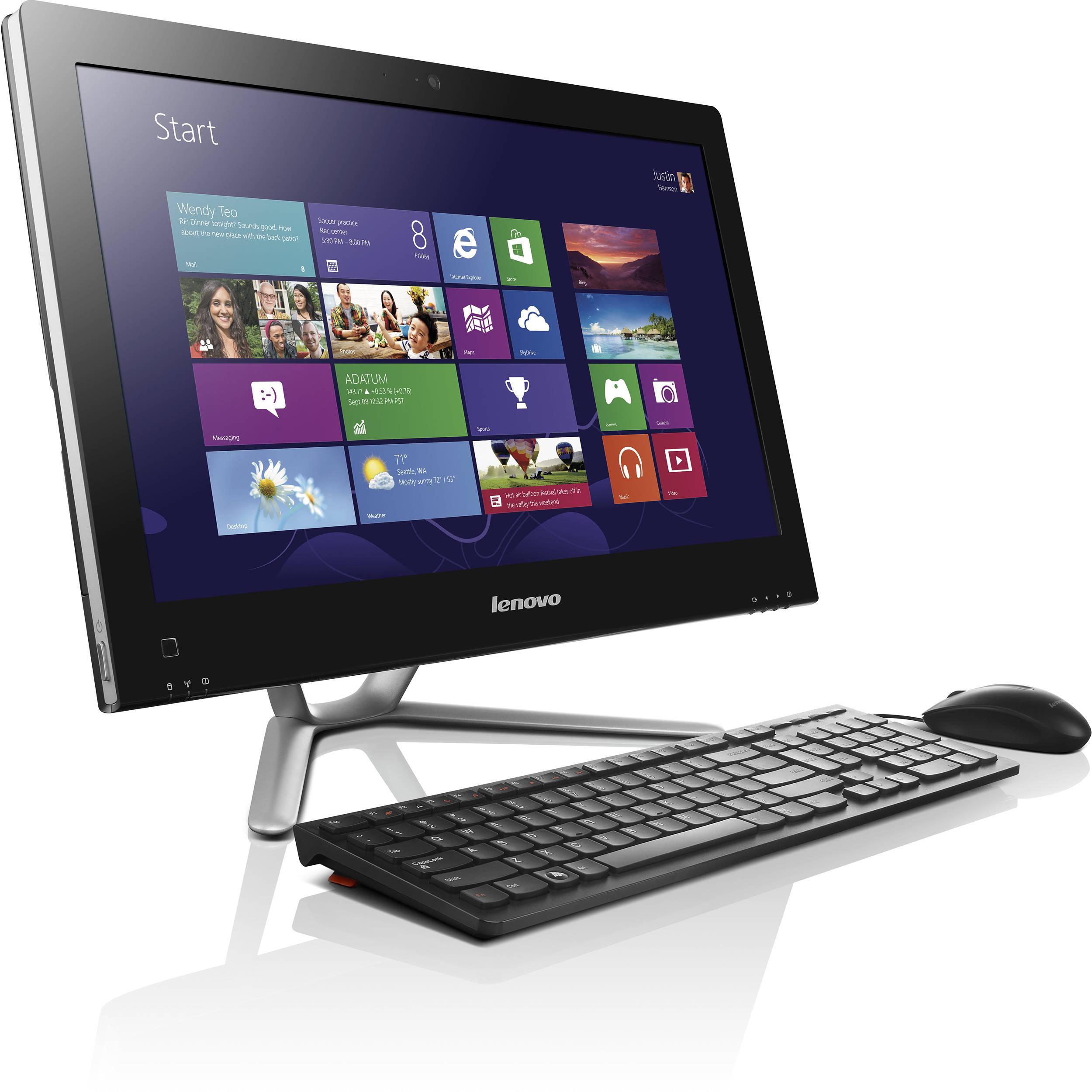 lenovo c540 23 pentium g2020 all in one desktop 57312695. Black Bedroom Furniture Sets. Home Design Ideas