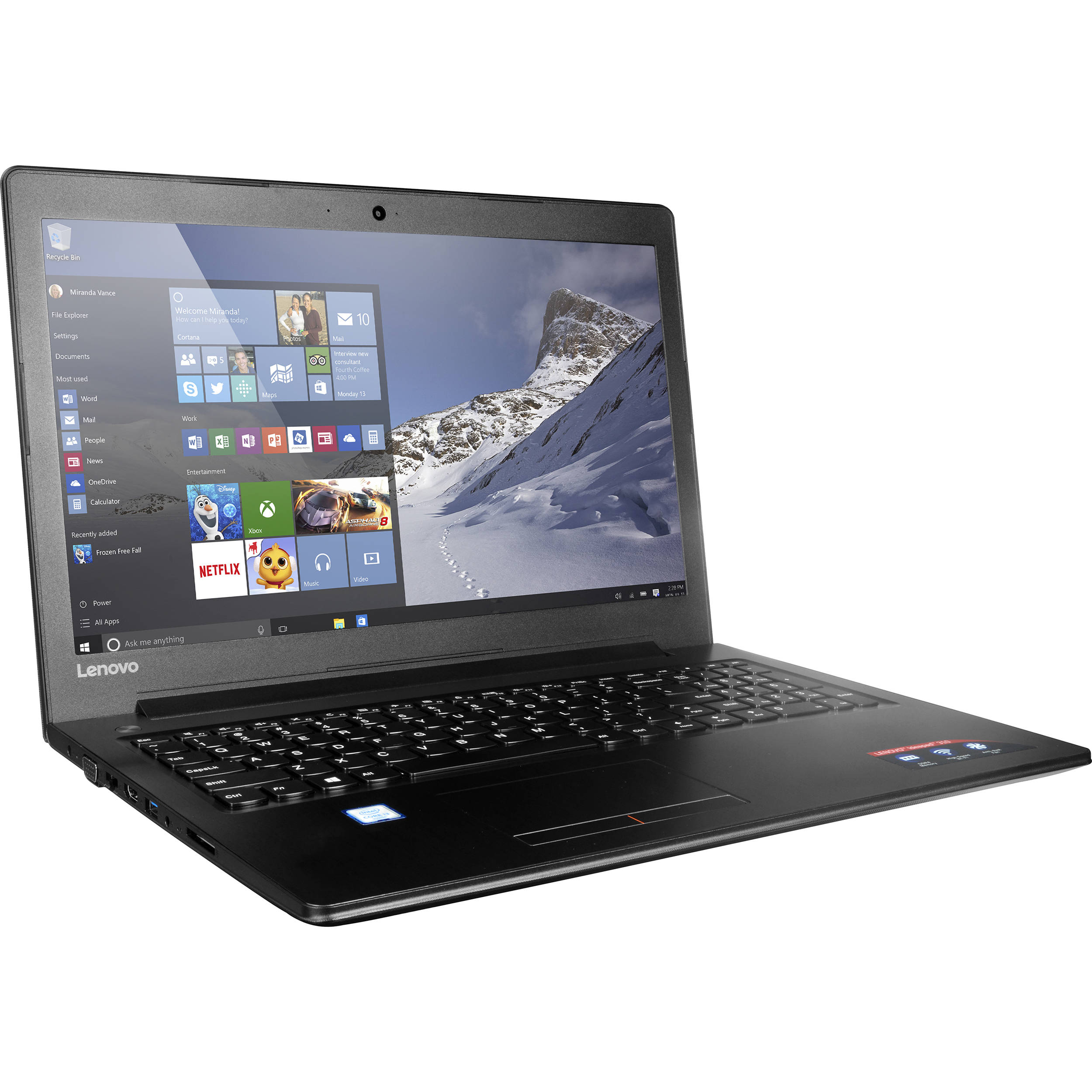 "Lenovo 15.6"" Ideapad 310 Series Notebook 80SM0059US ..."