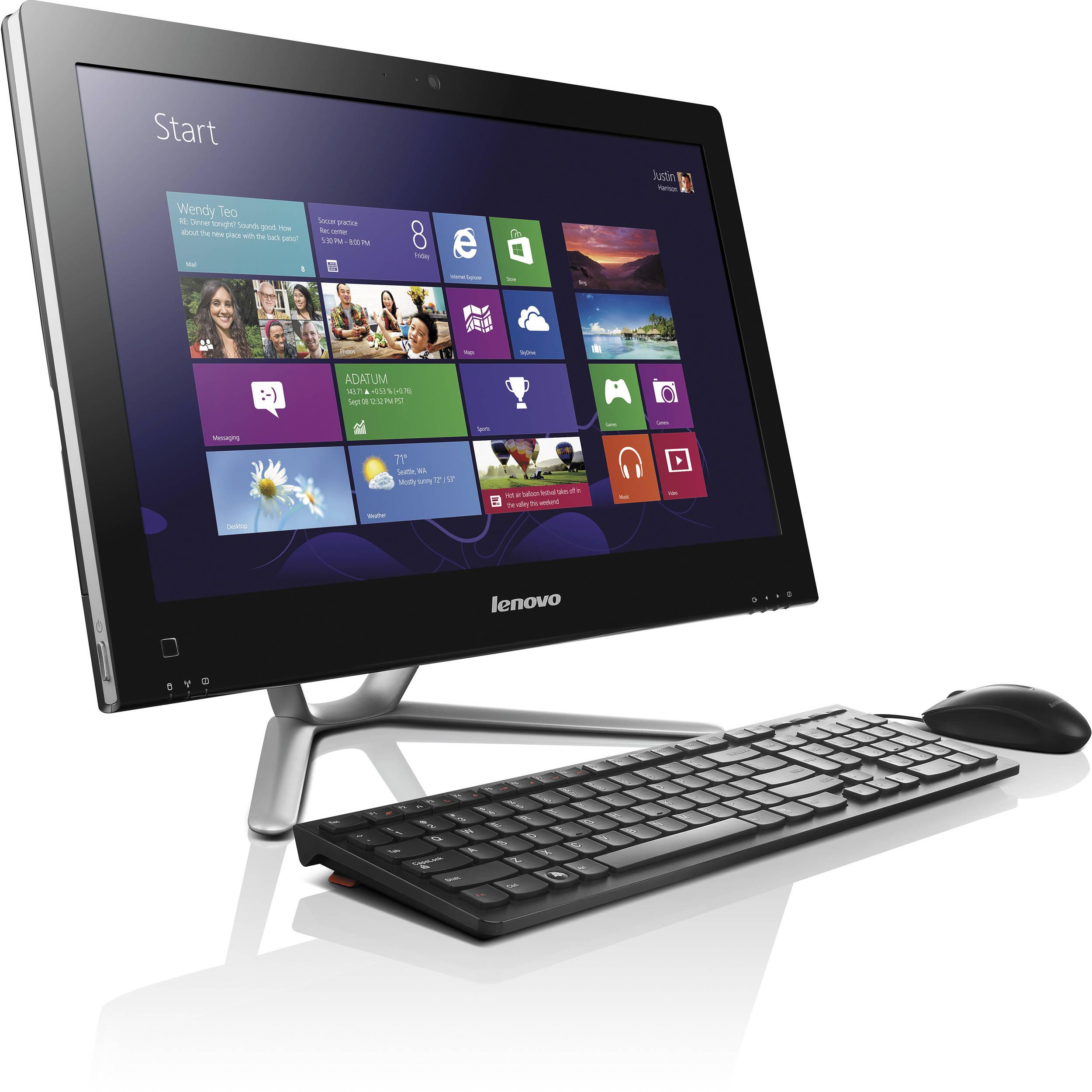 "LENOVO IdeaCentre AIO 510S 23"" Touchscreen All-in-One PC ... |Lenovo Desktop All In One"