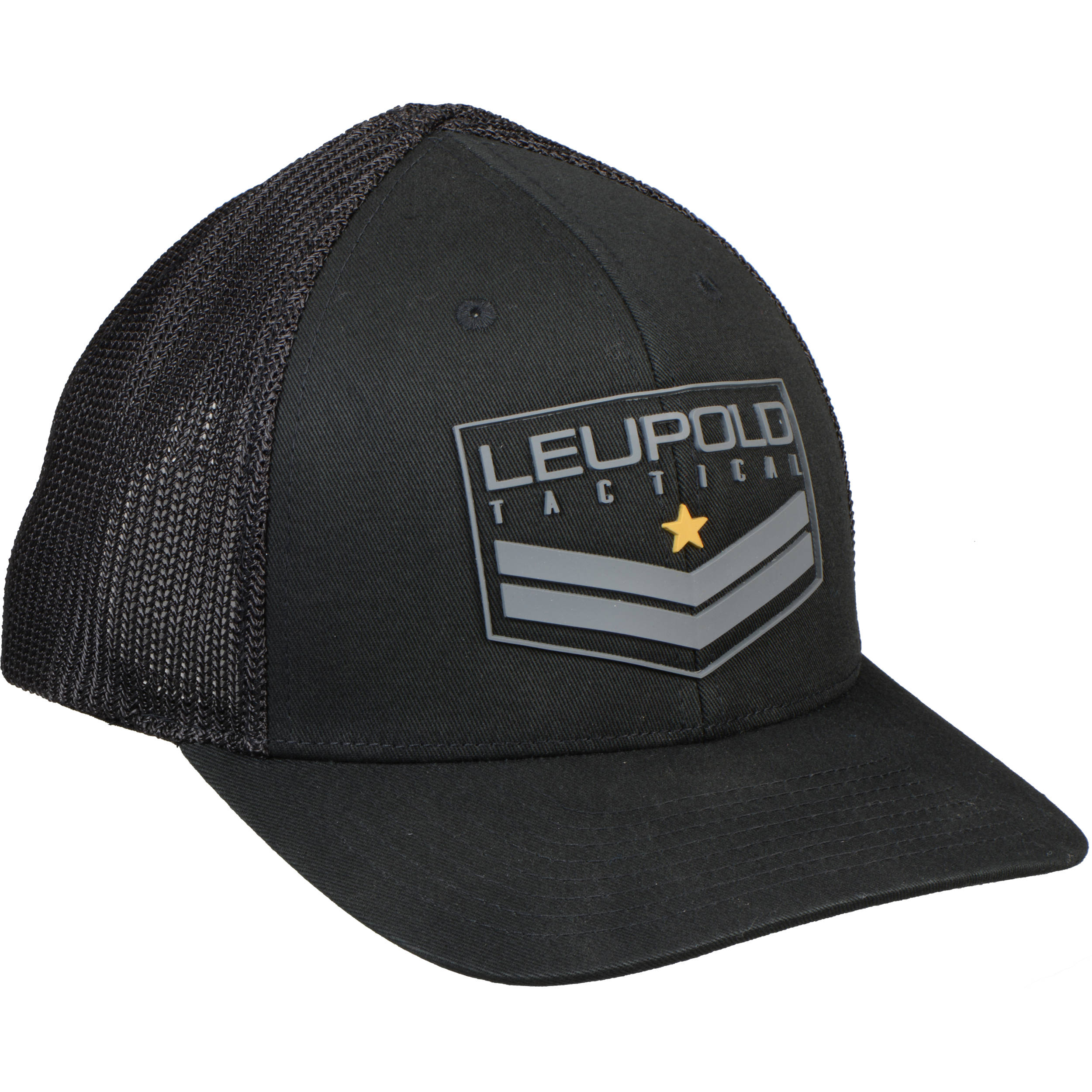 Leupold Tact Badge FlexFit Hat (Black e0b4a7601ce0